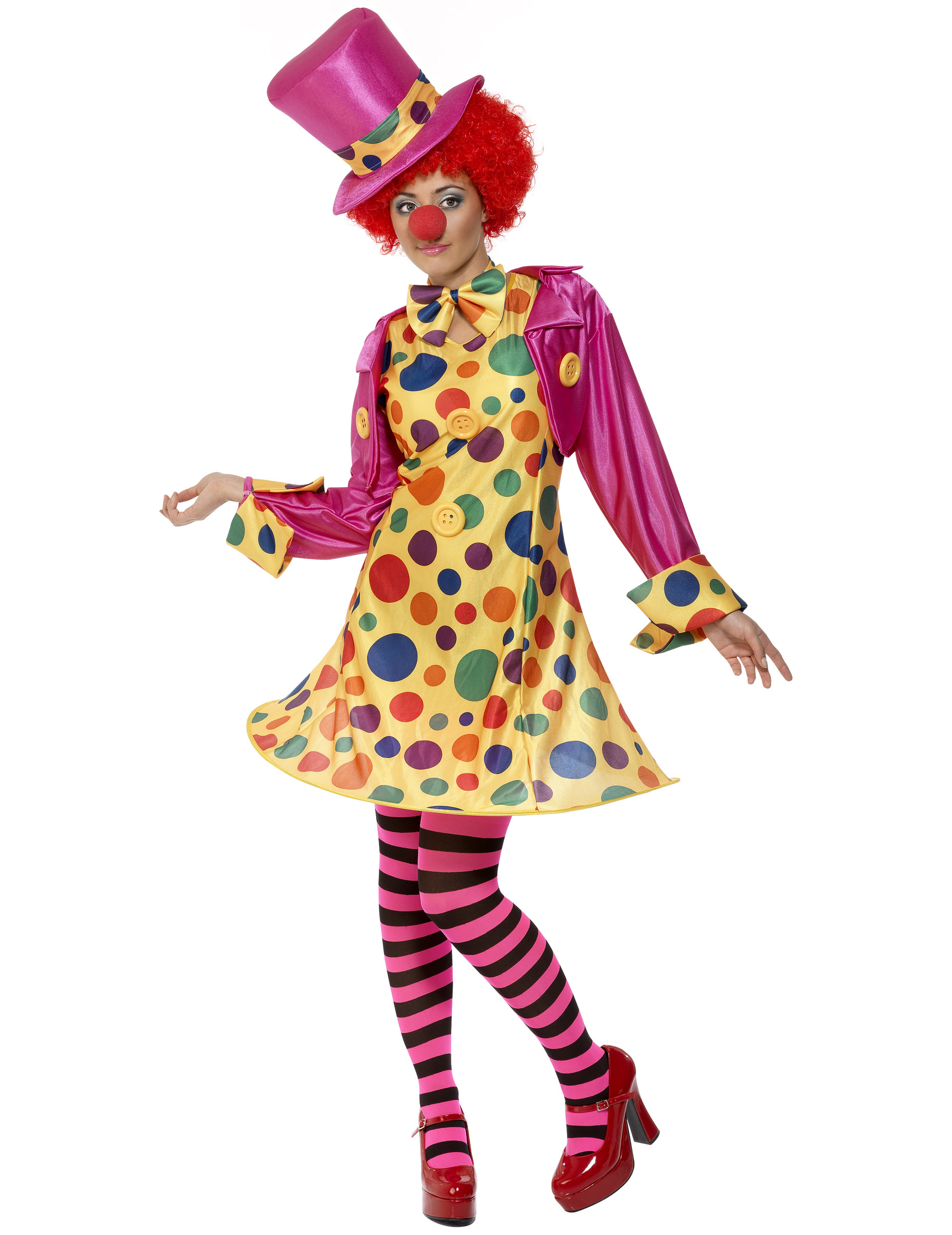 D Guisement Clown Femme D Coration Anniversaire Et F Tes Th Me Sur Vegaoo Party
