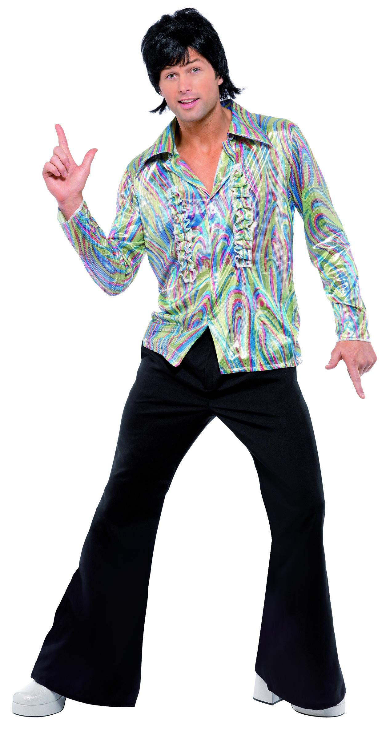 D guisement disco ann es 70 homme d coration anniversaire - Annee 70 homme ...