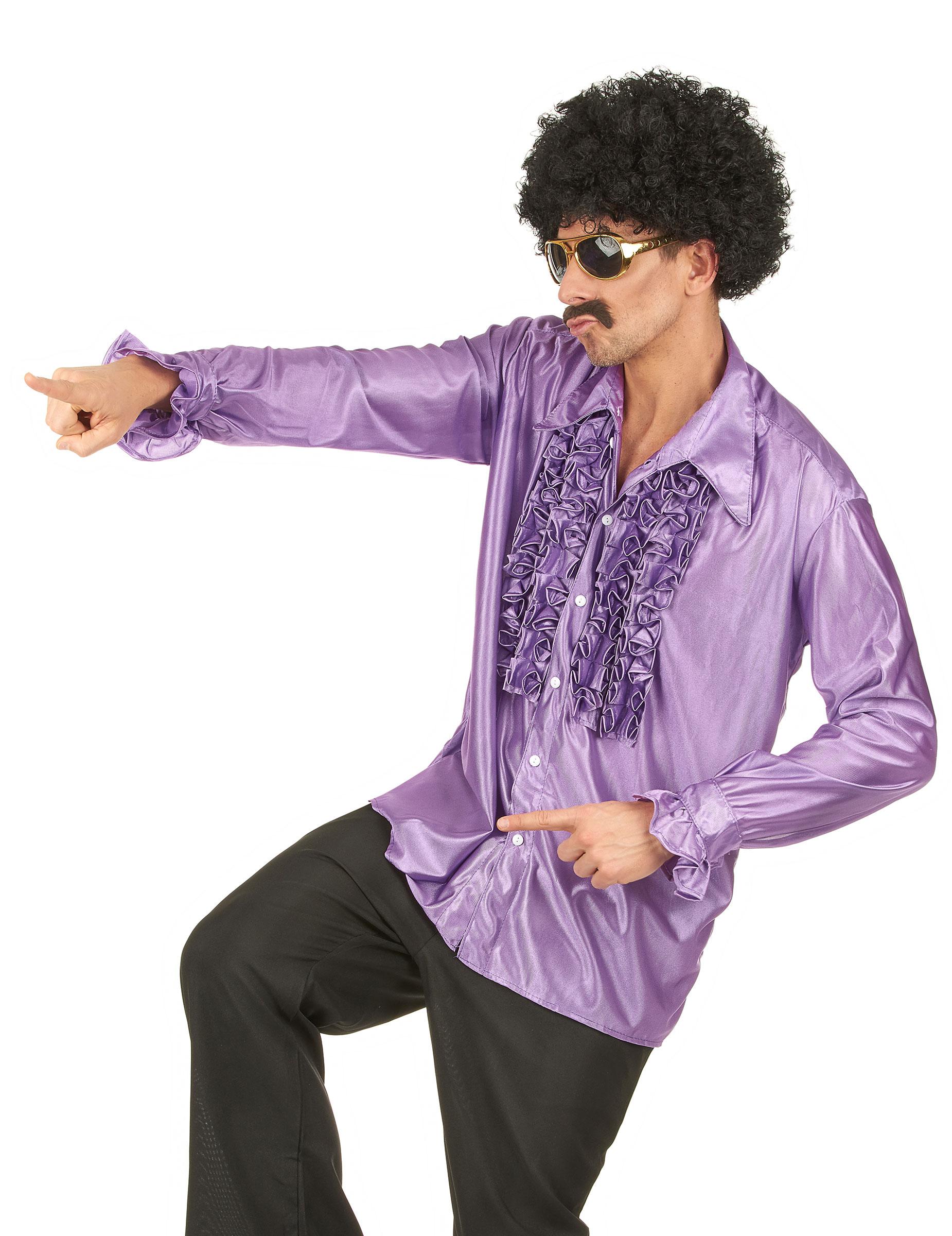 chemise disco homme d coration anniversaire et f tes. Black Bedroom Furniture Sets. Home Design Ideas