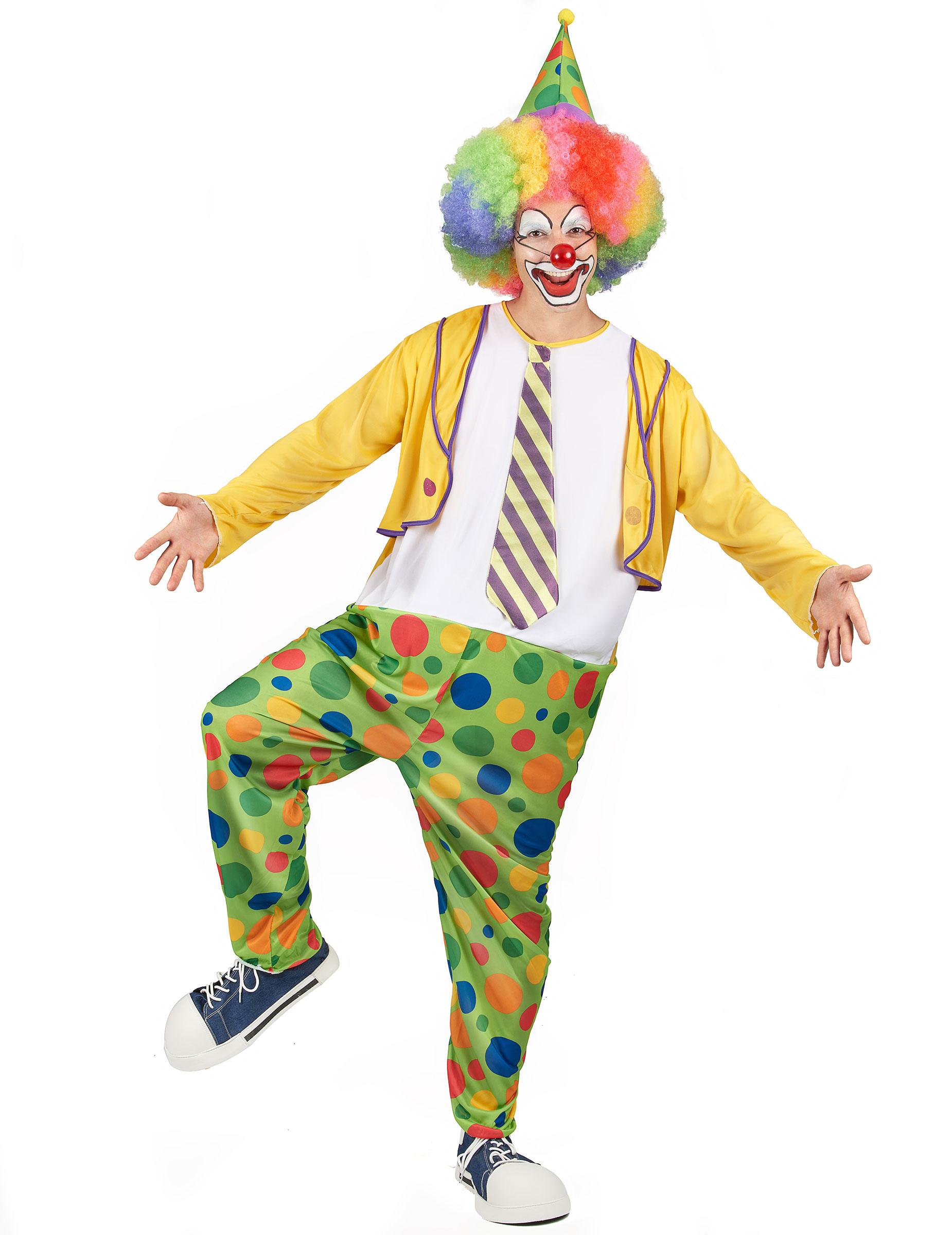 d guisement clown homme d coration anniversaire et f tes th me sur vegaoo party. Black Bedroom Furniture Sets. Home Design Ideas