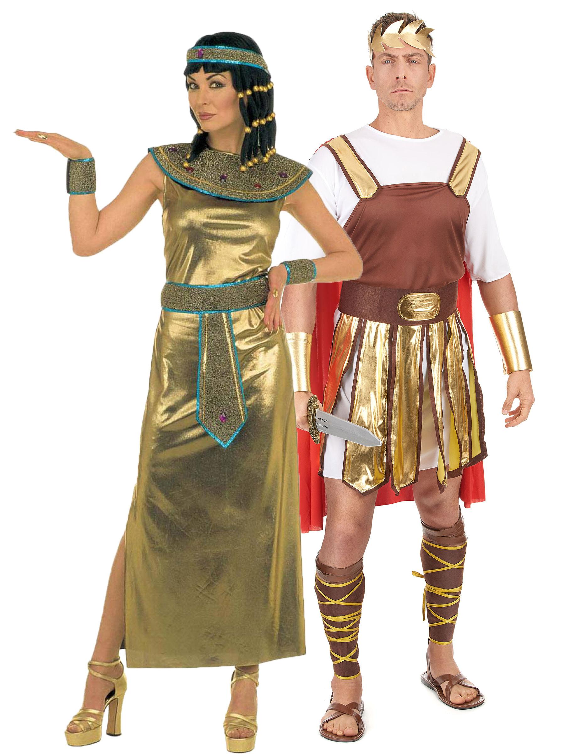 d guisement couple cl opatre et empereur romain. Black Bedroom Furniture Sets. Home Design Ideas