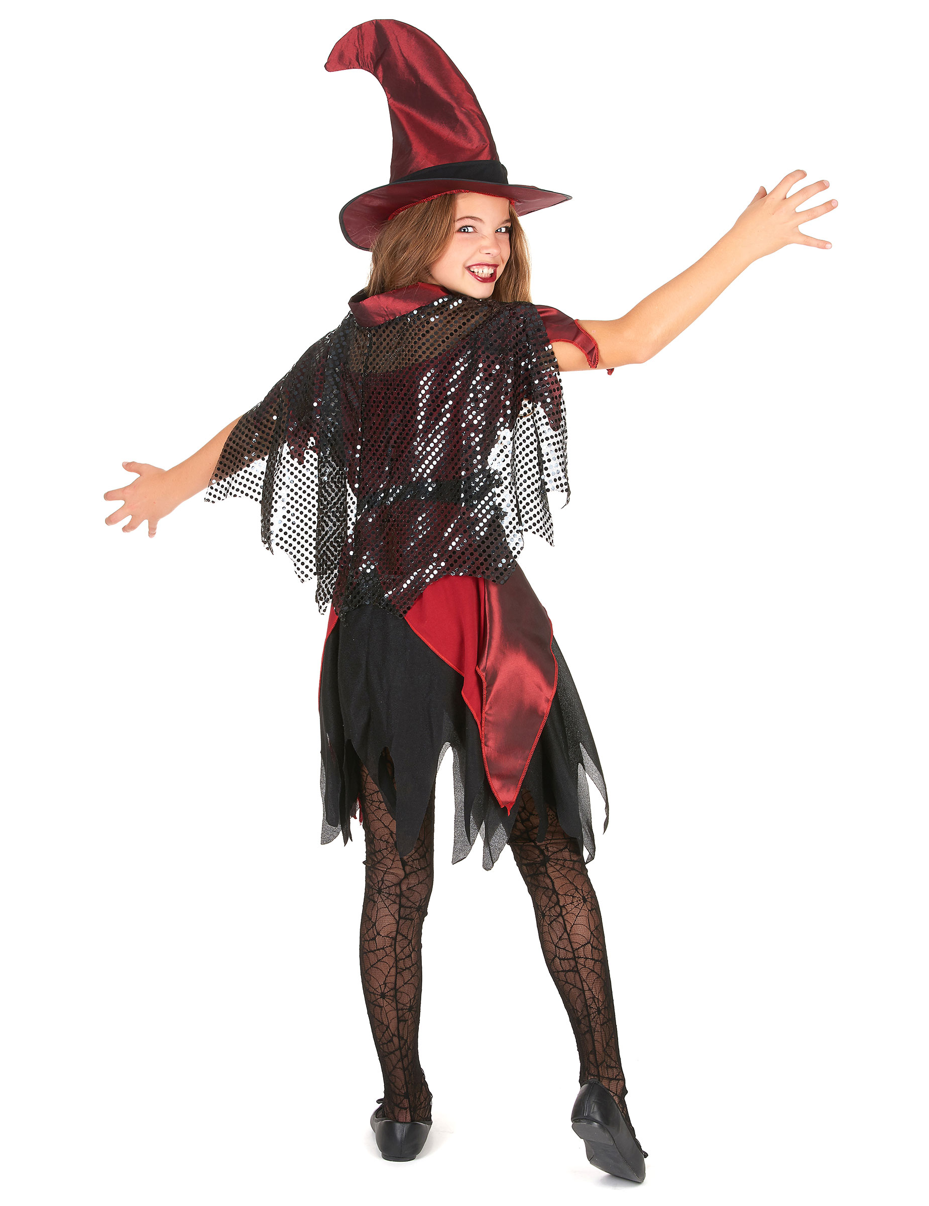 D guisement sorci re fille halloween d coration - Deguisement fille halloween ...