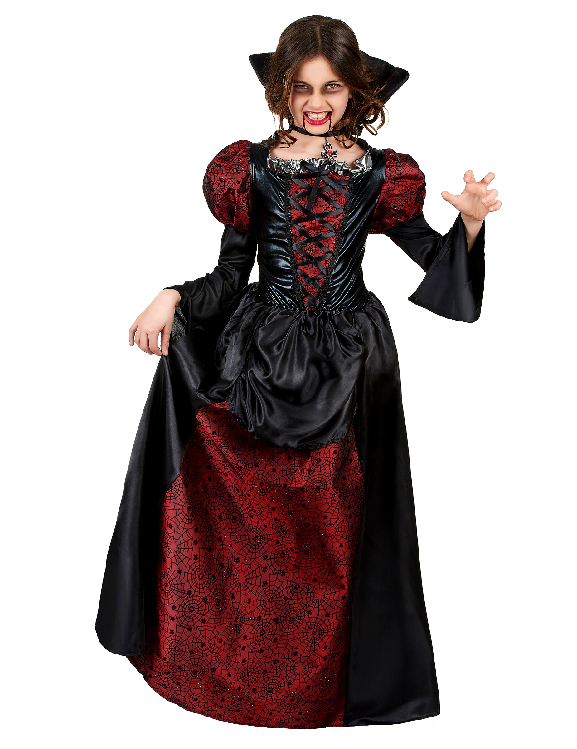 D guisement vampire fille halloween - Deguisement fille halloween ...