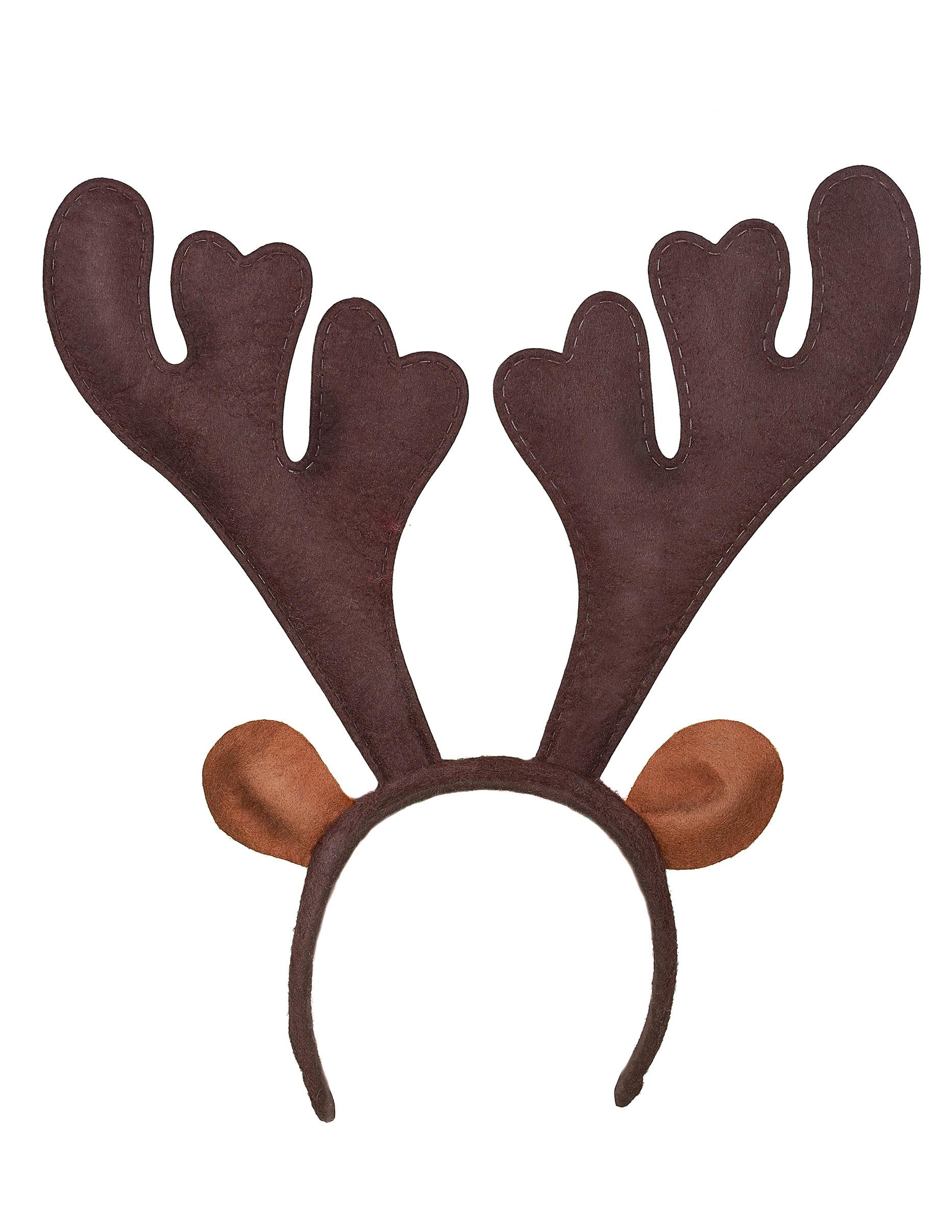 Serre tête renne noël, décoration anniversaire et fêtes à thème ...