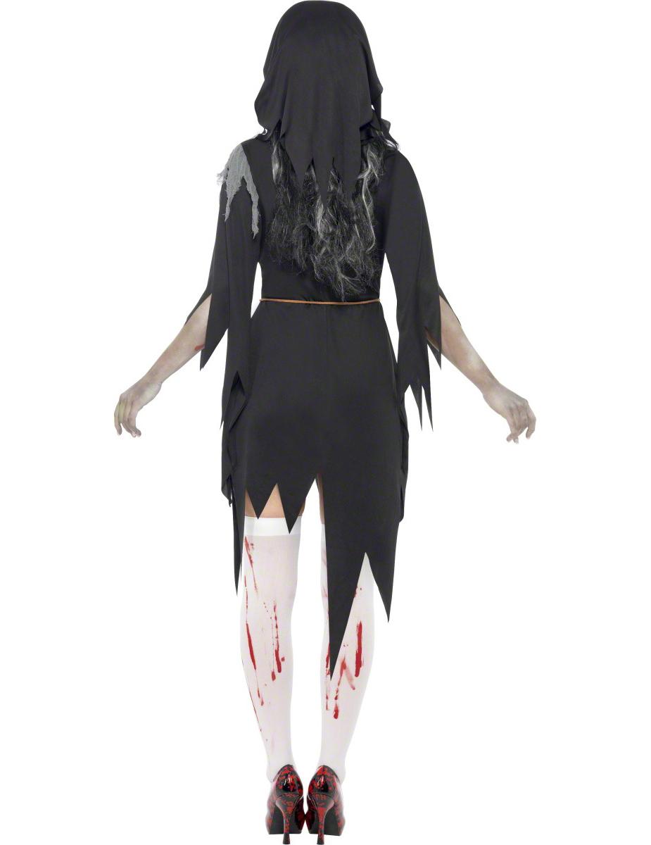 costume religieuse zombie halloween femme. Black Bedroom Furniture Sets. Home Design Ideas
