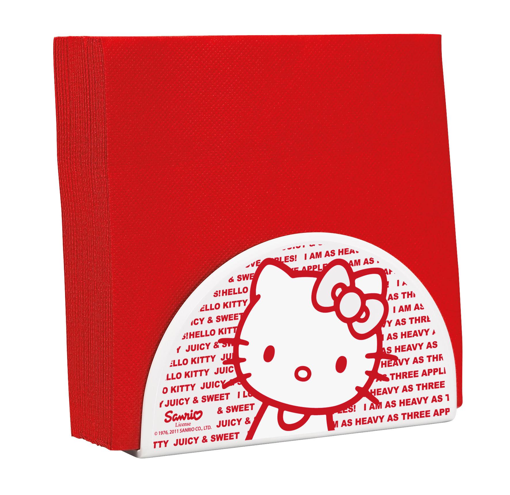 Porte serviettes hello kitty apple - Melamine c est quoi ...