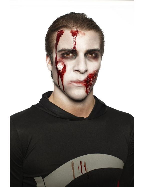 Kit maquillage zombie adulte halloween d coration anniversaire et f tes th me sur vegaoo party - Maquillage zombie homme ...
