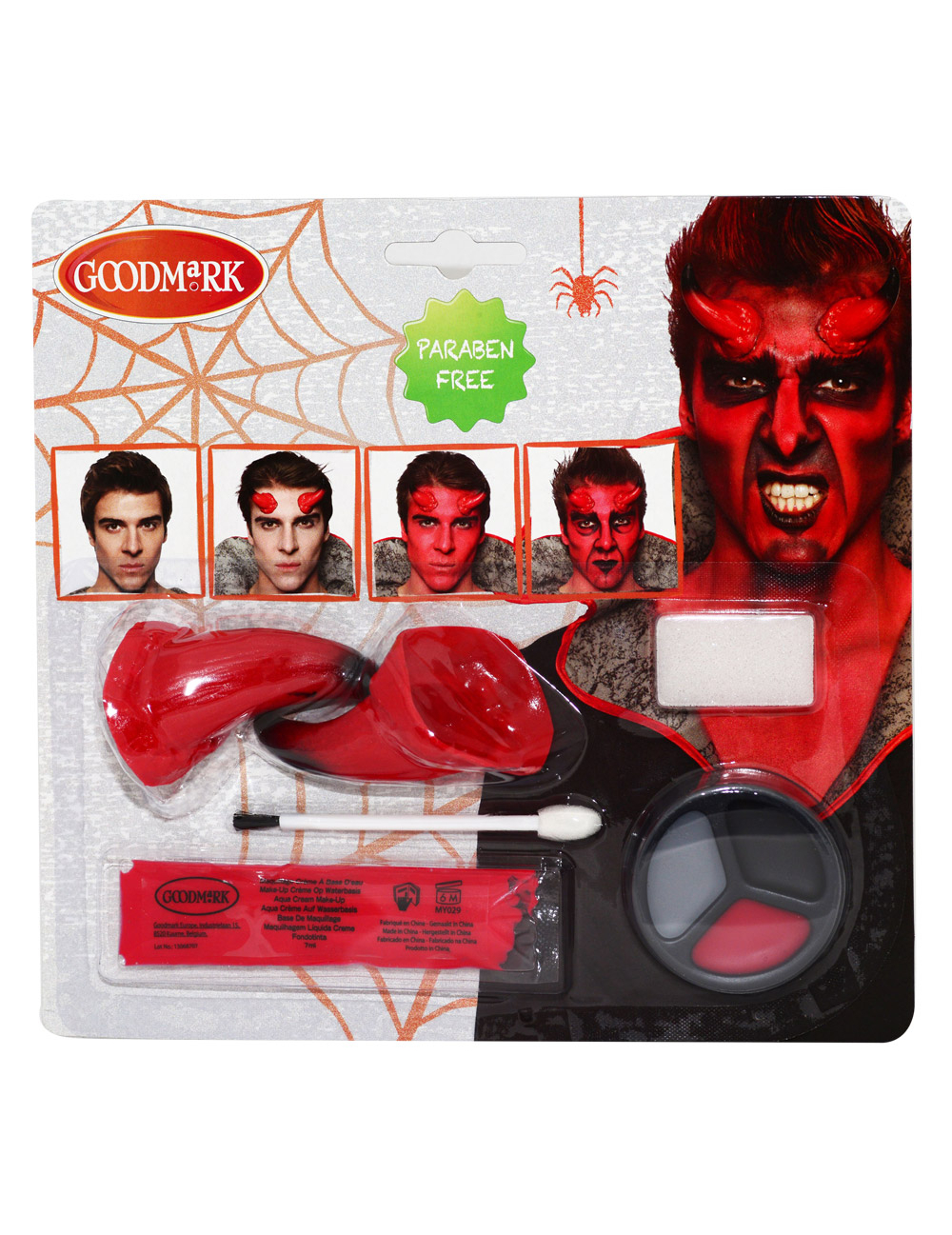 Kit maquillage d mon adulte halloween for Comidee maquillage halloween adulte