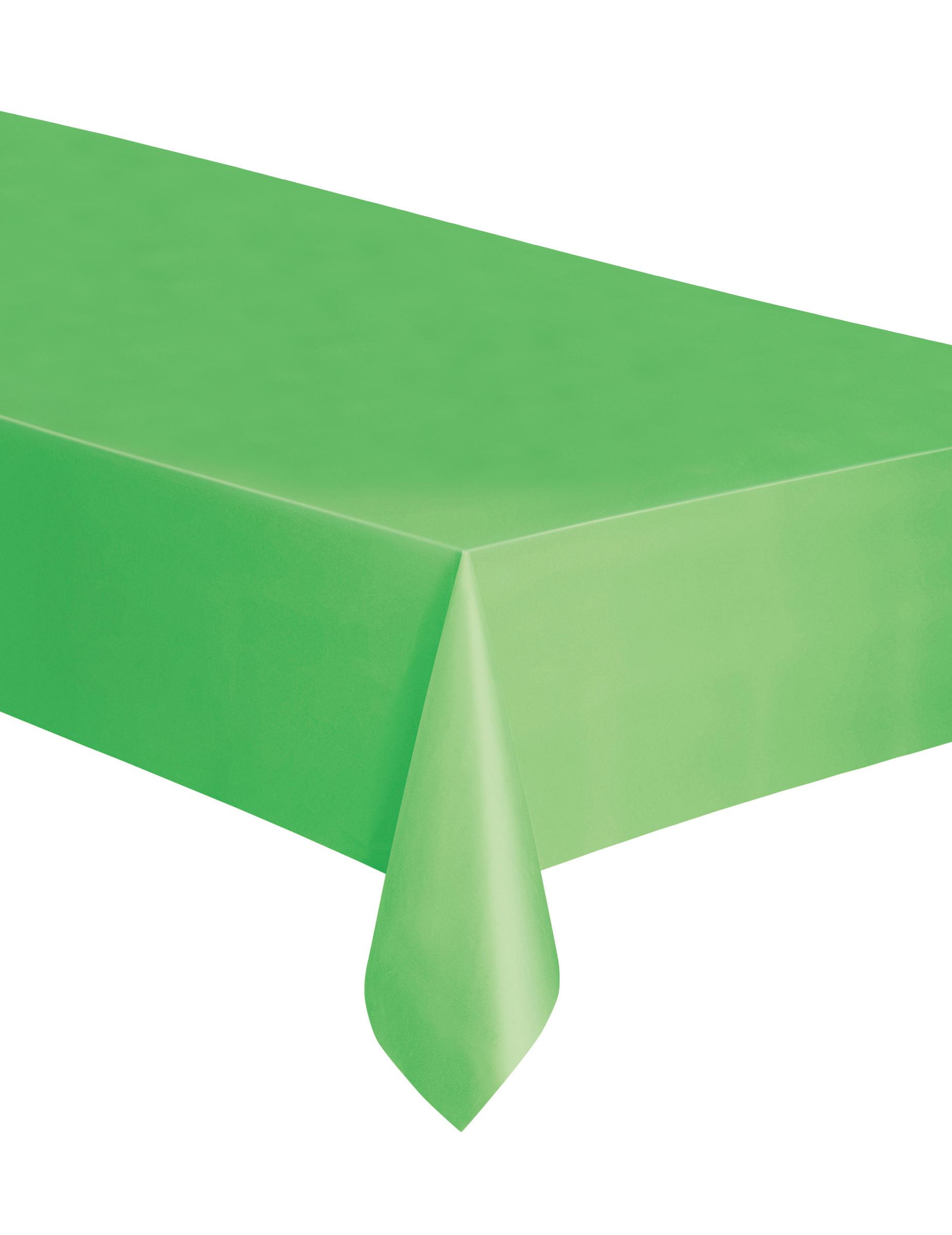 nappe rectangulaire en plastique vert citron 137 x 274 cm d coration anniversaire et f tes. Black Bedroom Furniture Sets. Home Design Ideas