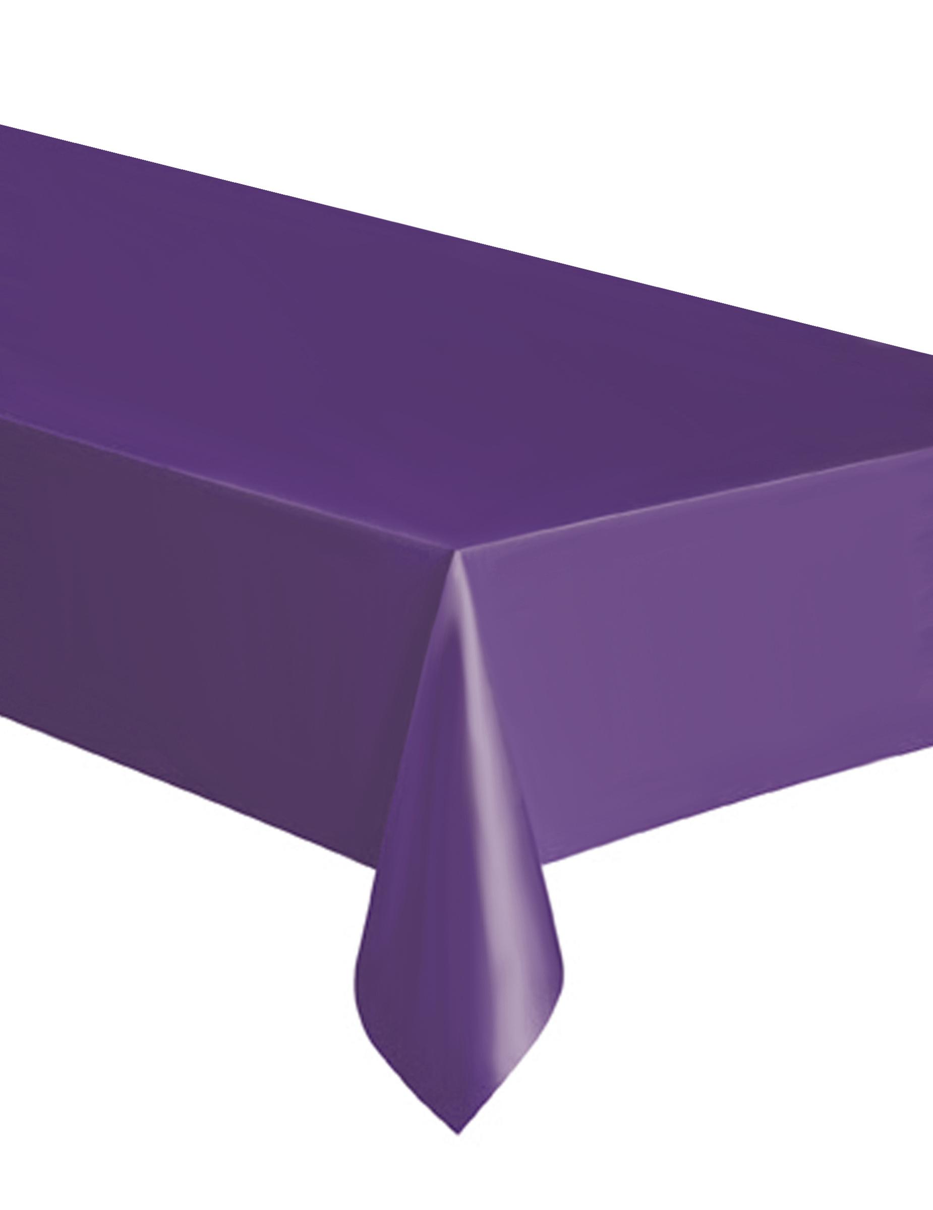 nappe rectangulaire violette en plastique d 233 coration anniversaire et f 234 tes 224 th 232 me sur vegaoo