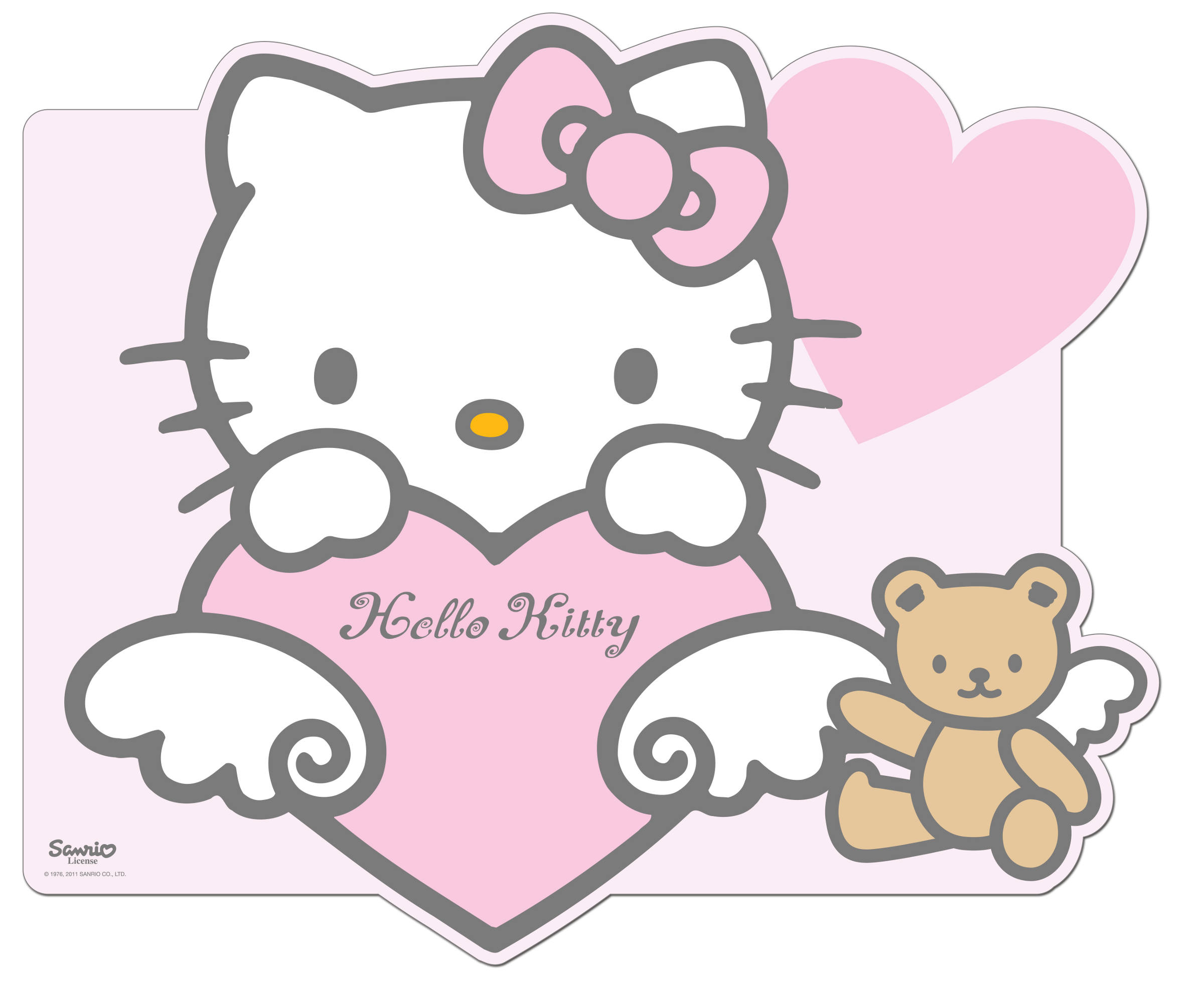 Set de table hello kitty baby d coration anniversaire et f tes th me sur vegaoo party - Table de nuit hello kitty ...
