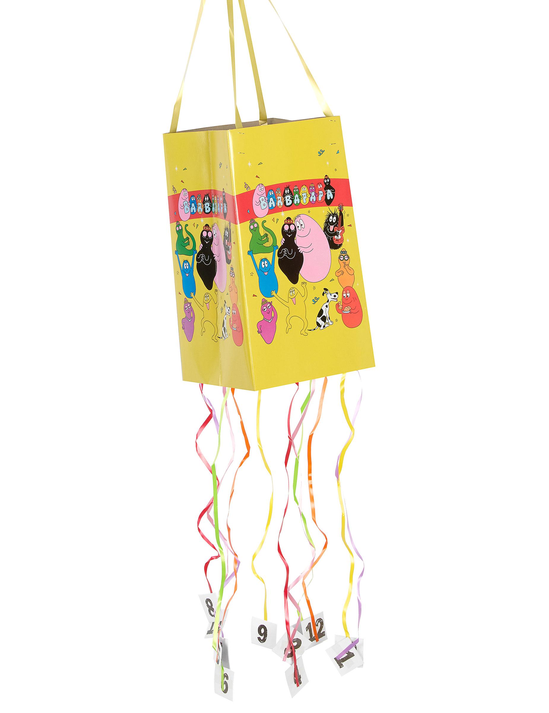 Pi ata souple barbapapa d coration anniversaire et f tes th me sur vegaoo party - Decoration anniversaire barbapapa ...