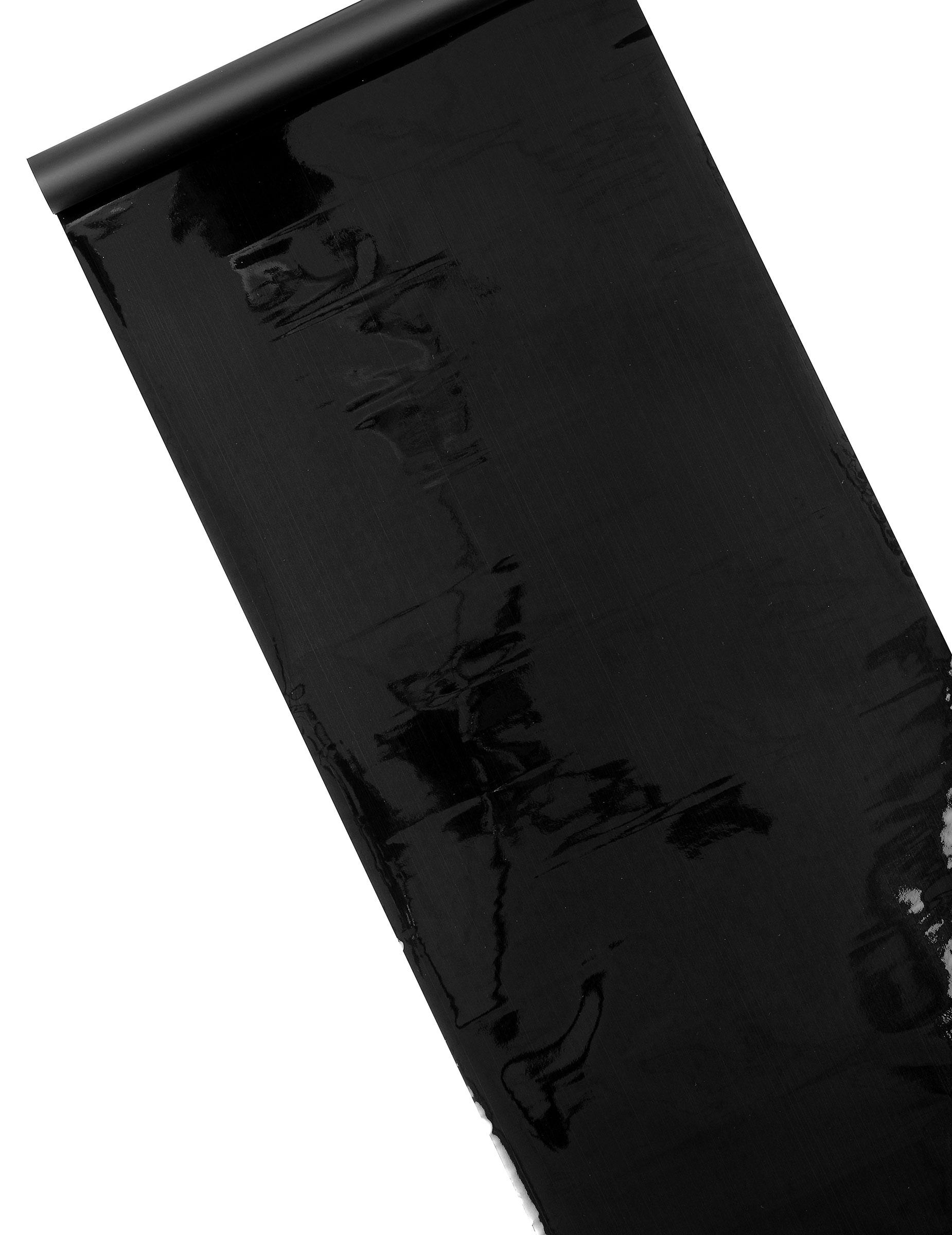 Chemin de table brillant mat noir d coration anniversaire for Chemin de table personnalise