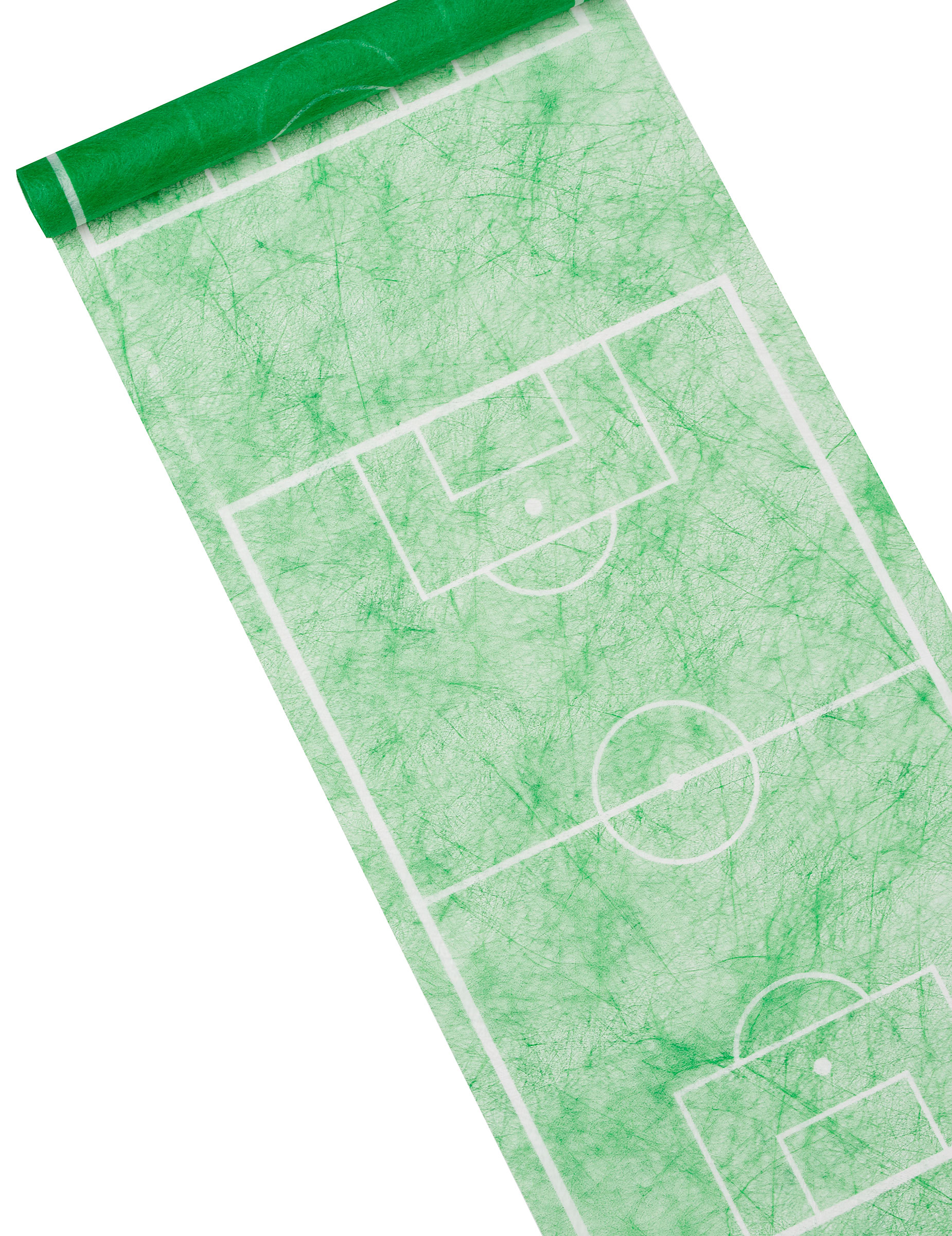 Chemin de table foot terrain vert vegaooparty - Chemin de table vert d eau ...