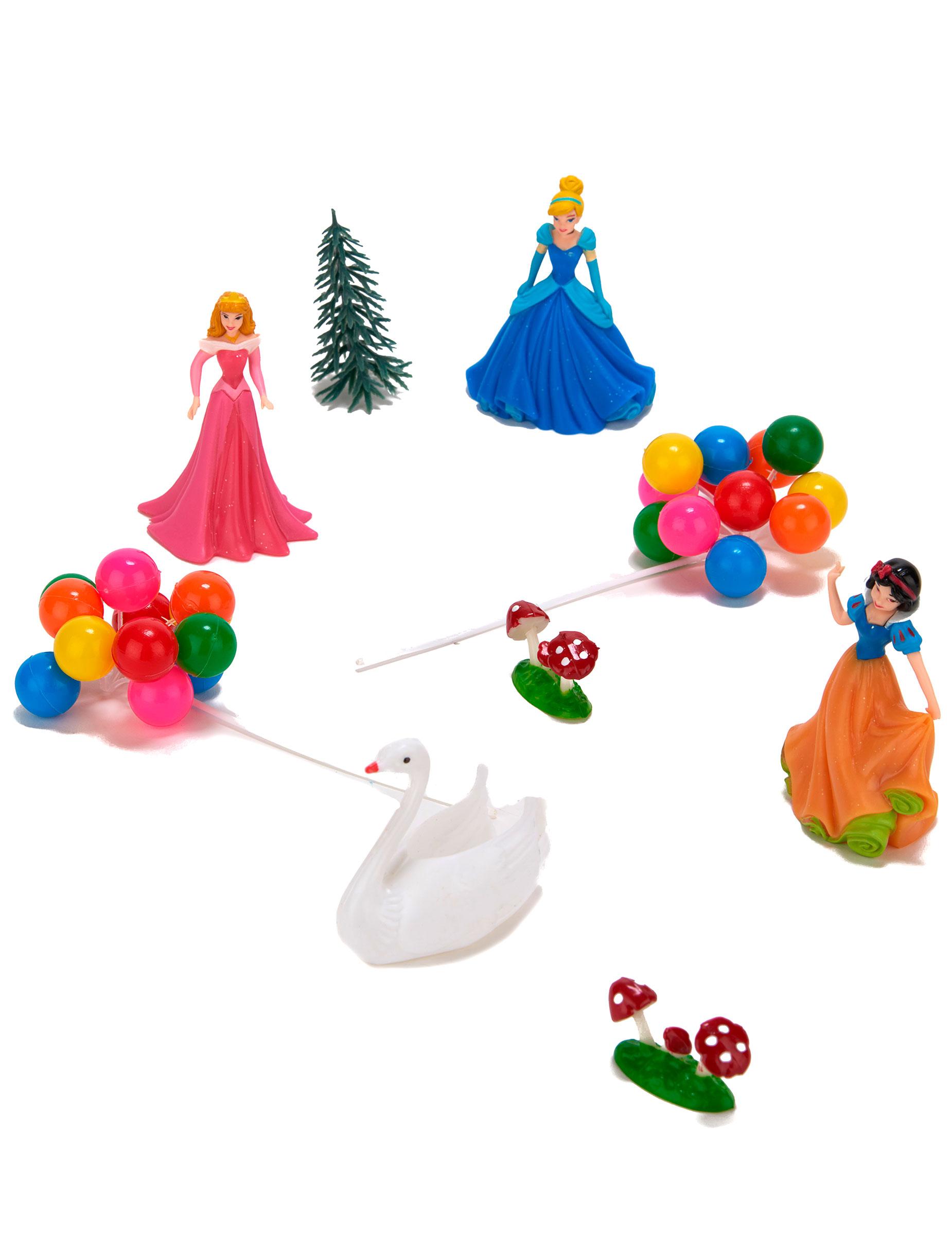 kit de d corations g teaux princesses disney d coration anniversaire et f tes th me sur. Black Bedroom Furniture Sets. Home Design Ideas