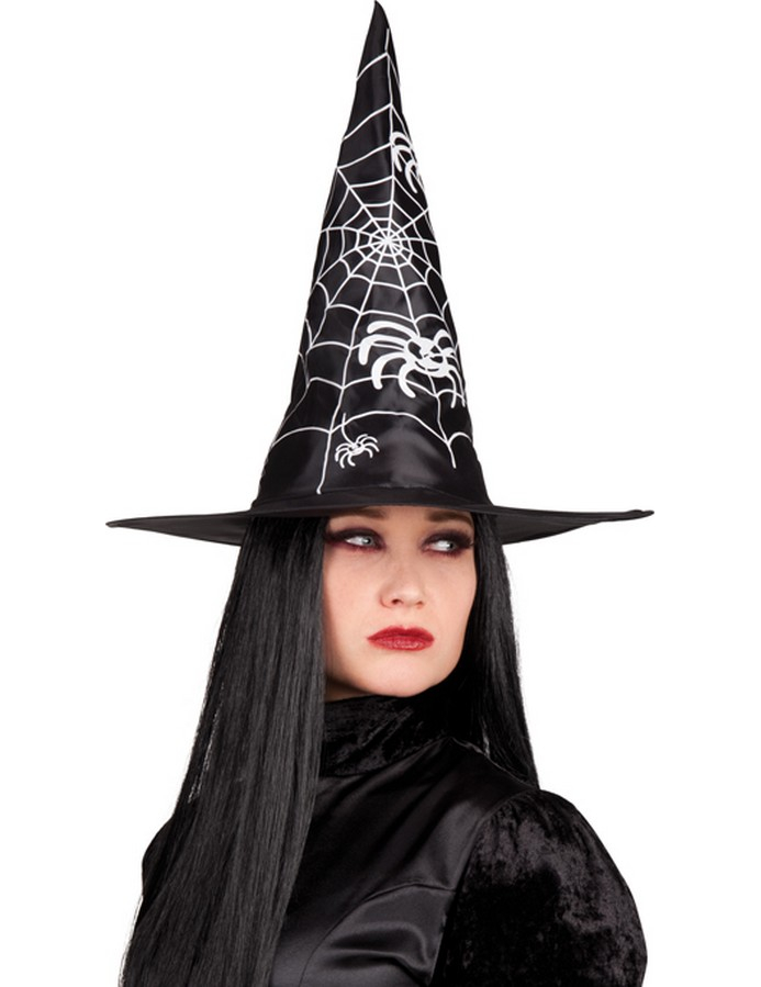 chapeau sorci re noire adulte halloween d coration anniversaire et f tes th me sur vegaoo party. Black Bedroom Furniture Sets. Home Design Ideas