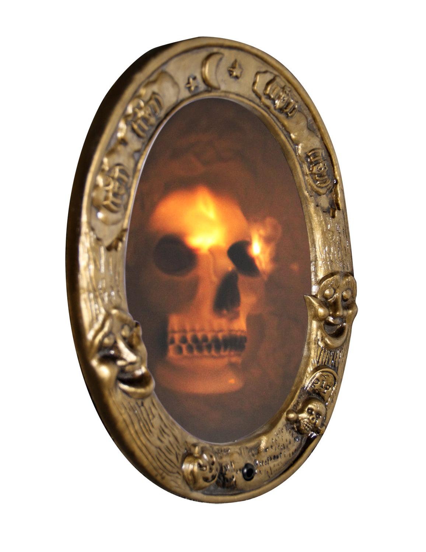 Miroir sonore halloween d coration anniversaire et f tes for Miroir 3 parties