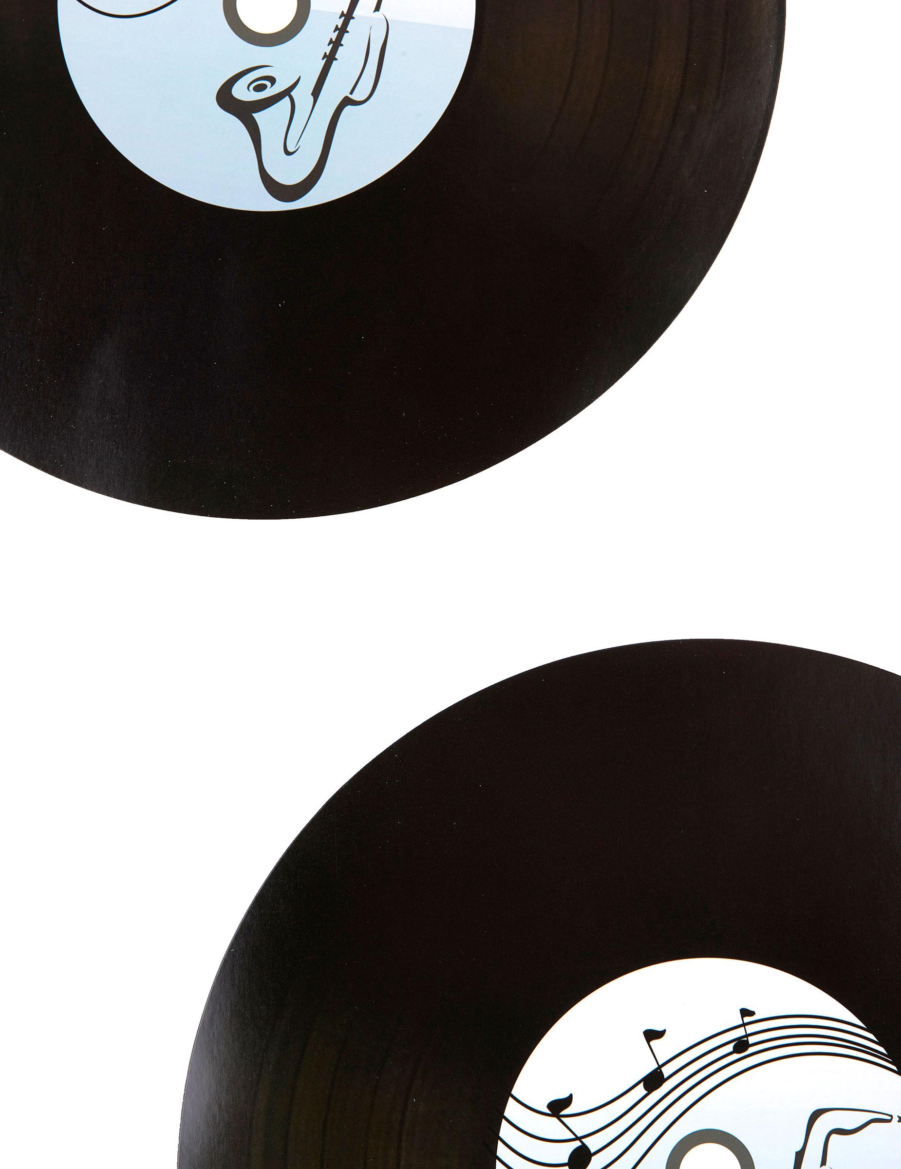 2 sets de table vinyl d coration anniversaire et f tes. Black Bedroom Furniture Sets. Home Design Ideas