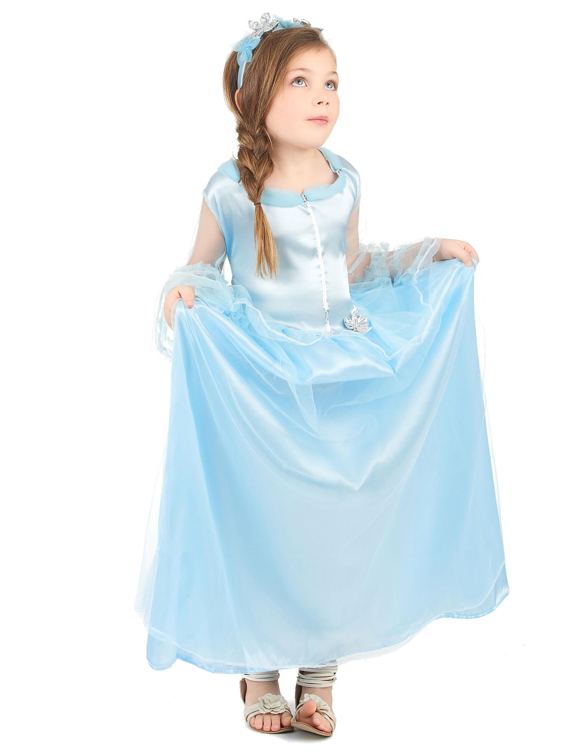 d guisement princesse bleue fille d coration anniversaire et f tes th me sur vegaoo party. Black Bedroom Furniture Sets. Home Design Ideas