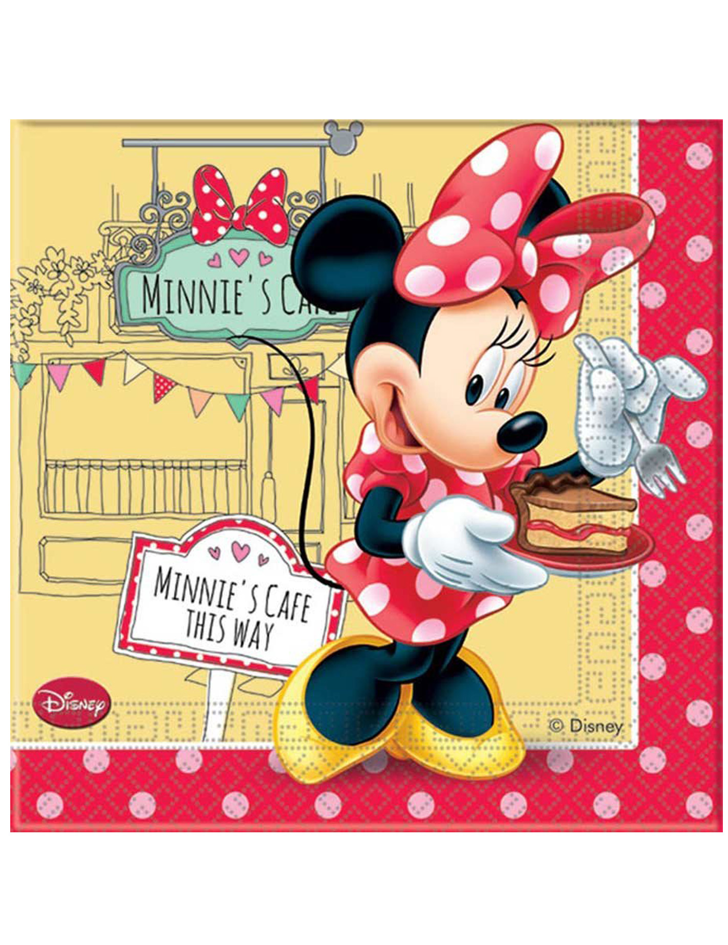 anniversaire minnie cafe