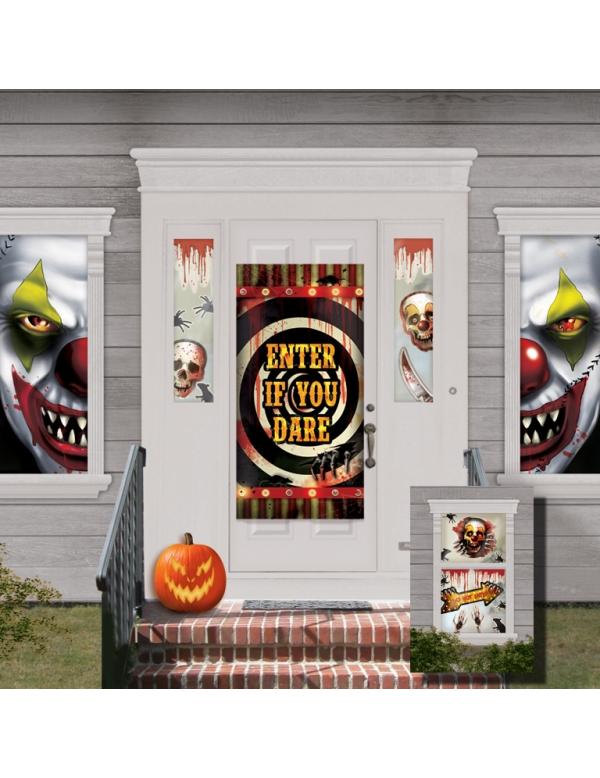 33 d corations maison halloween d coration anniversaire et f tes th me sur vegaoo party. Black Bedroom Furniture Sets. Home Design Ideas