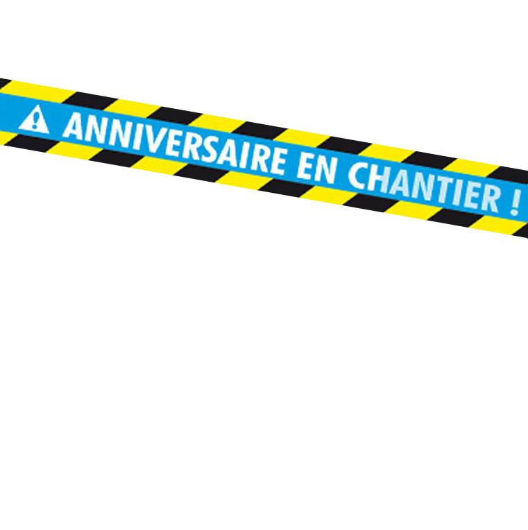 banderole anniversaire en chantier On banderole publicitaire gratuite