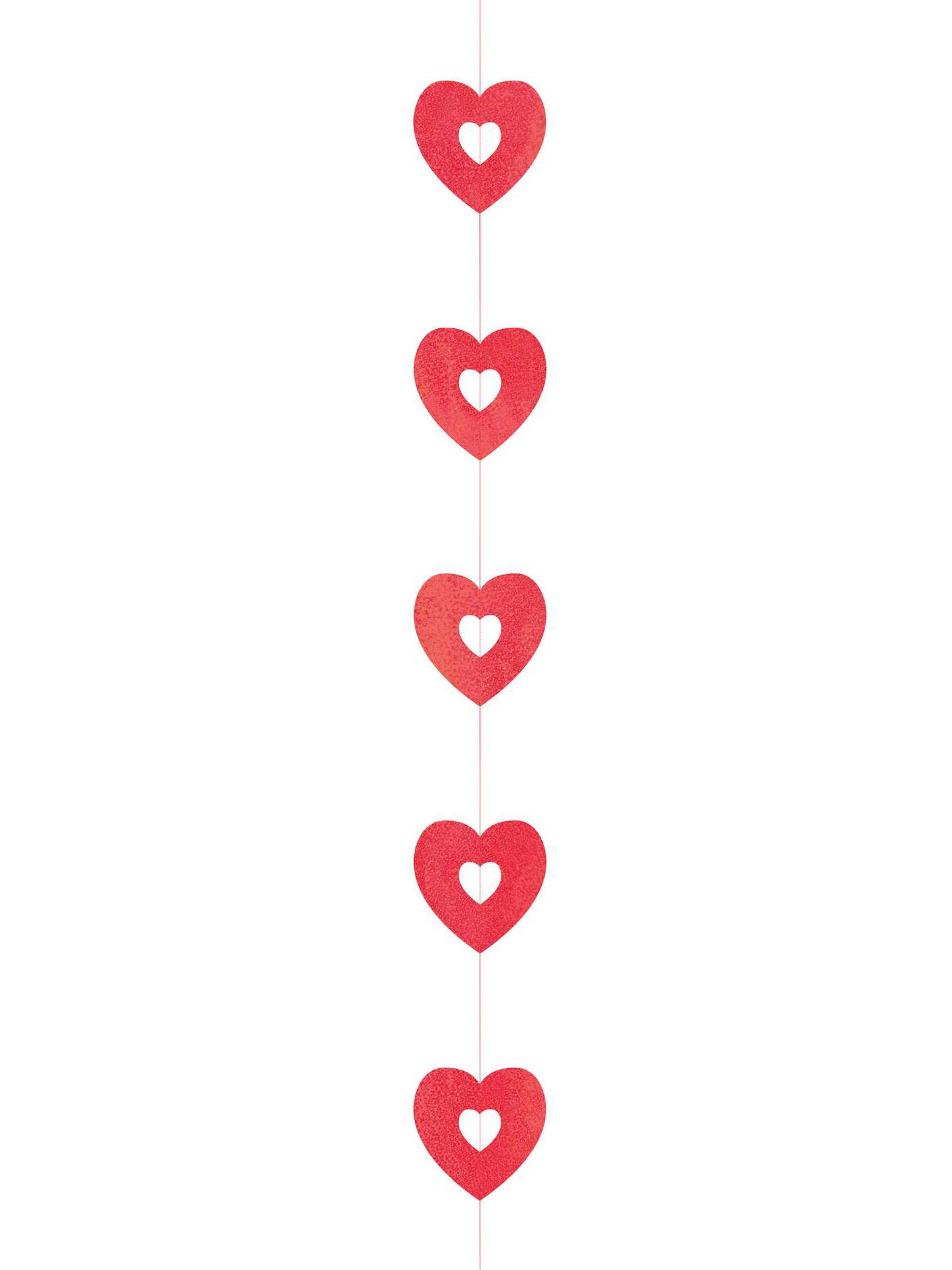 4 d corations suspendre coeurs saint valentin for Decoration a suspendre