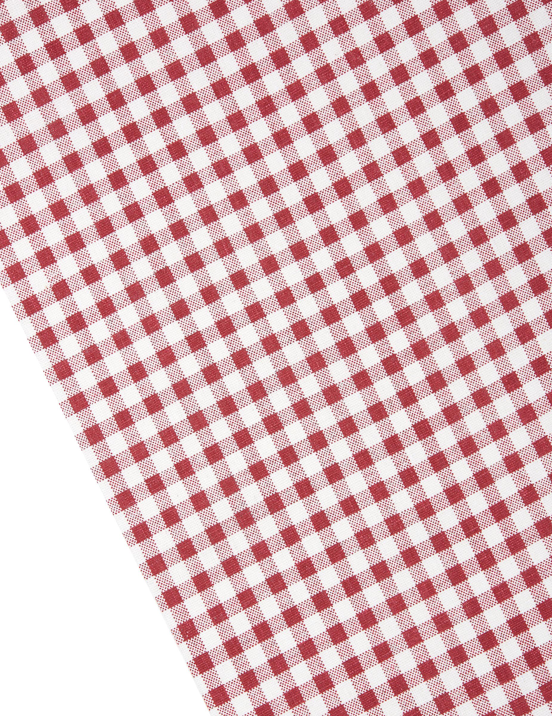 Chemin de table coton vichy retro d coration anniversaire - Set de table coton ...