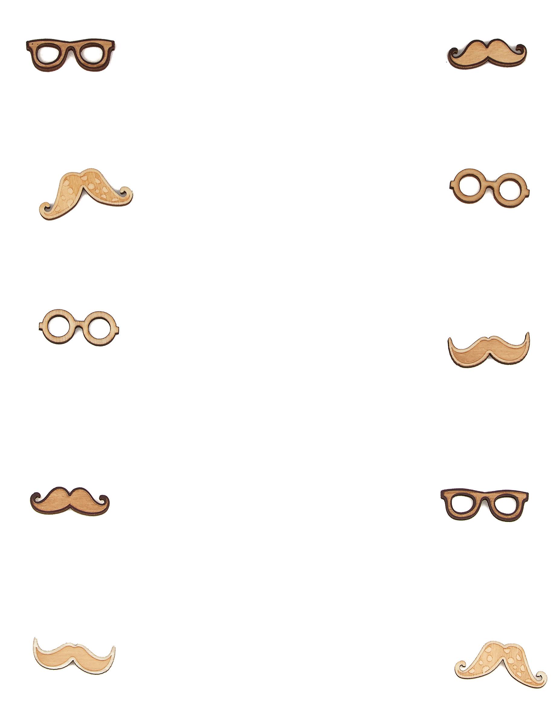 Recettes D Un Gateau D Anniversaire Avec Decoration Moustaches