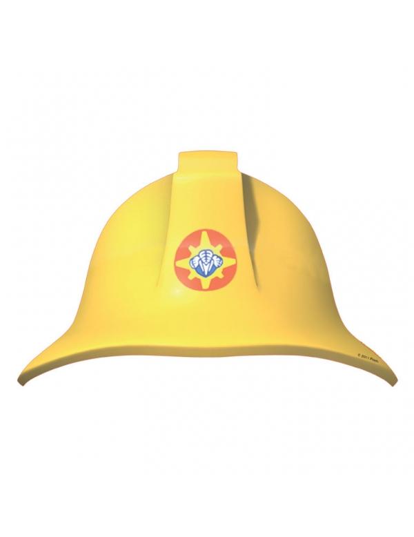 8 chapeaux en carton sam le pompier d coration - Chapeau en carton a decorer ...