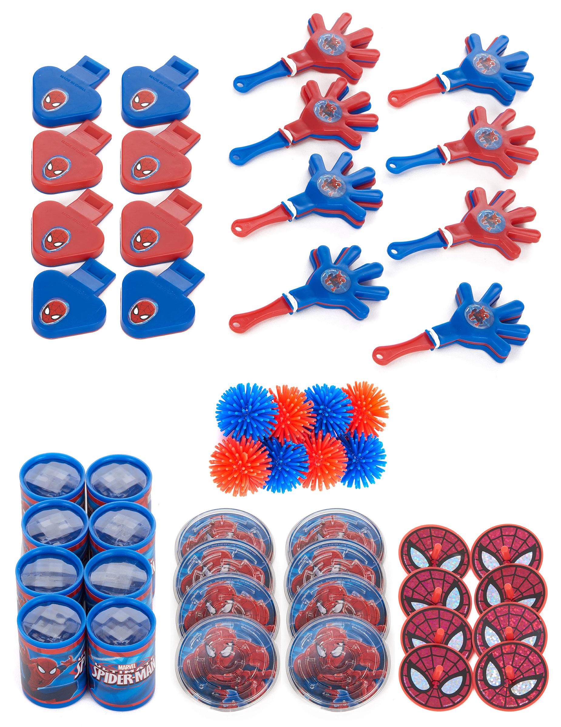 48 petits cadeaux spiderman d coration anniversaire et f tes th me sur vegaoo party - Deco anniversaire spiderman ...
