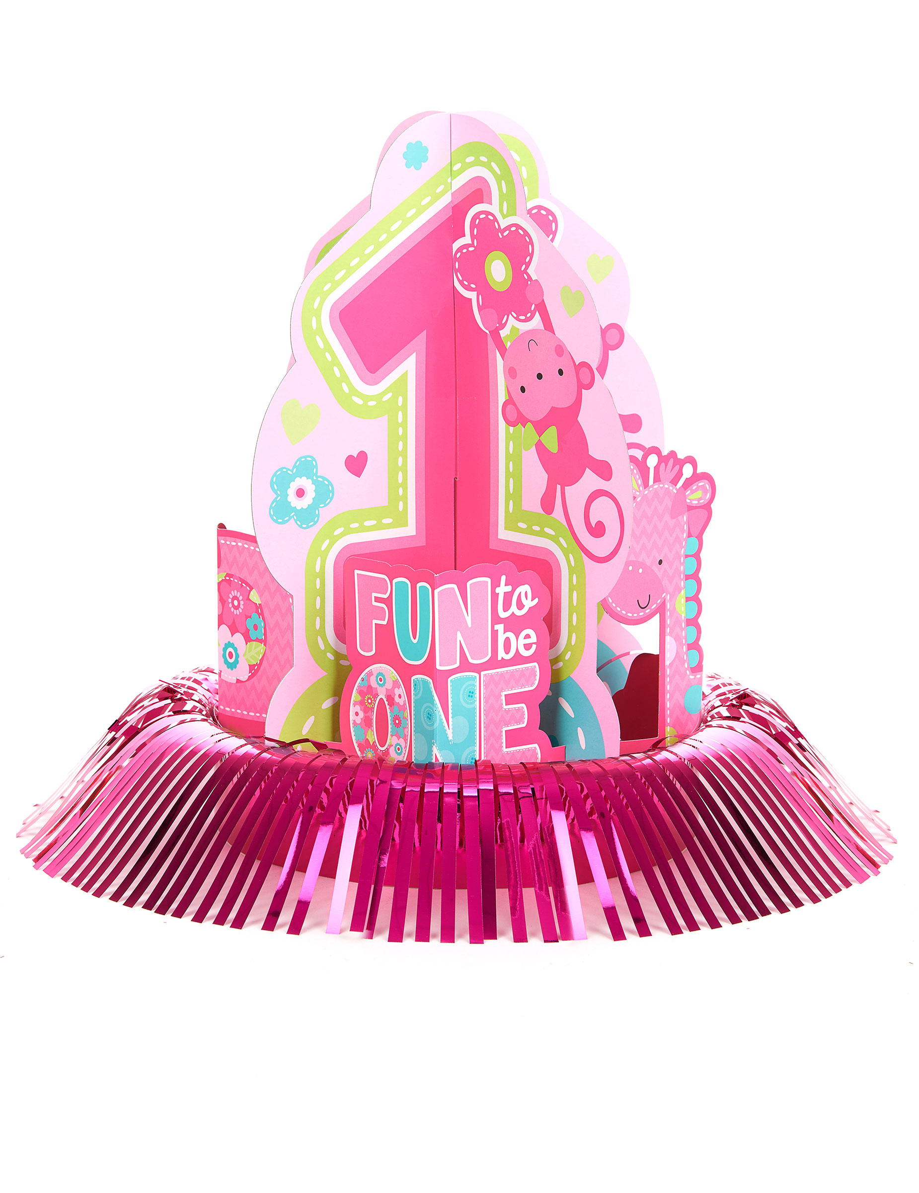 Kit de d coration centre de table 1 an fille d coration anniversaire et f tes th me sur - Decoration anniversaire 1 an ...