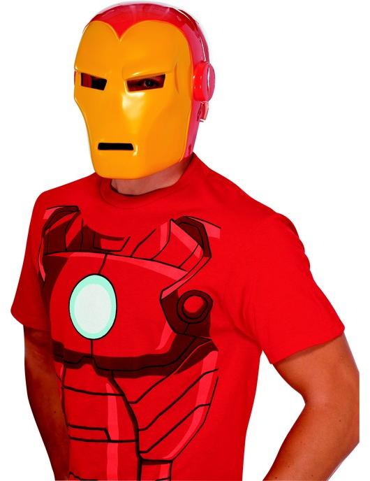 Masque iron man adulte d coration anniversaire et f tes - Masque iron man adulte ...