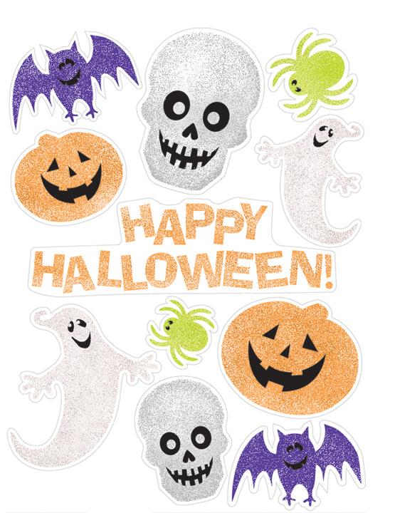 D corations autocollantes pour fen tre halloween for Decoration fenetre pour halloween