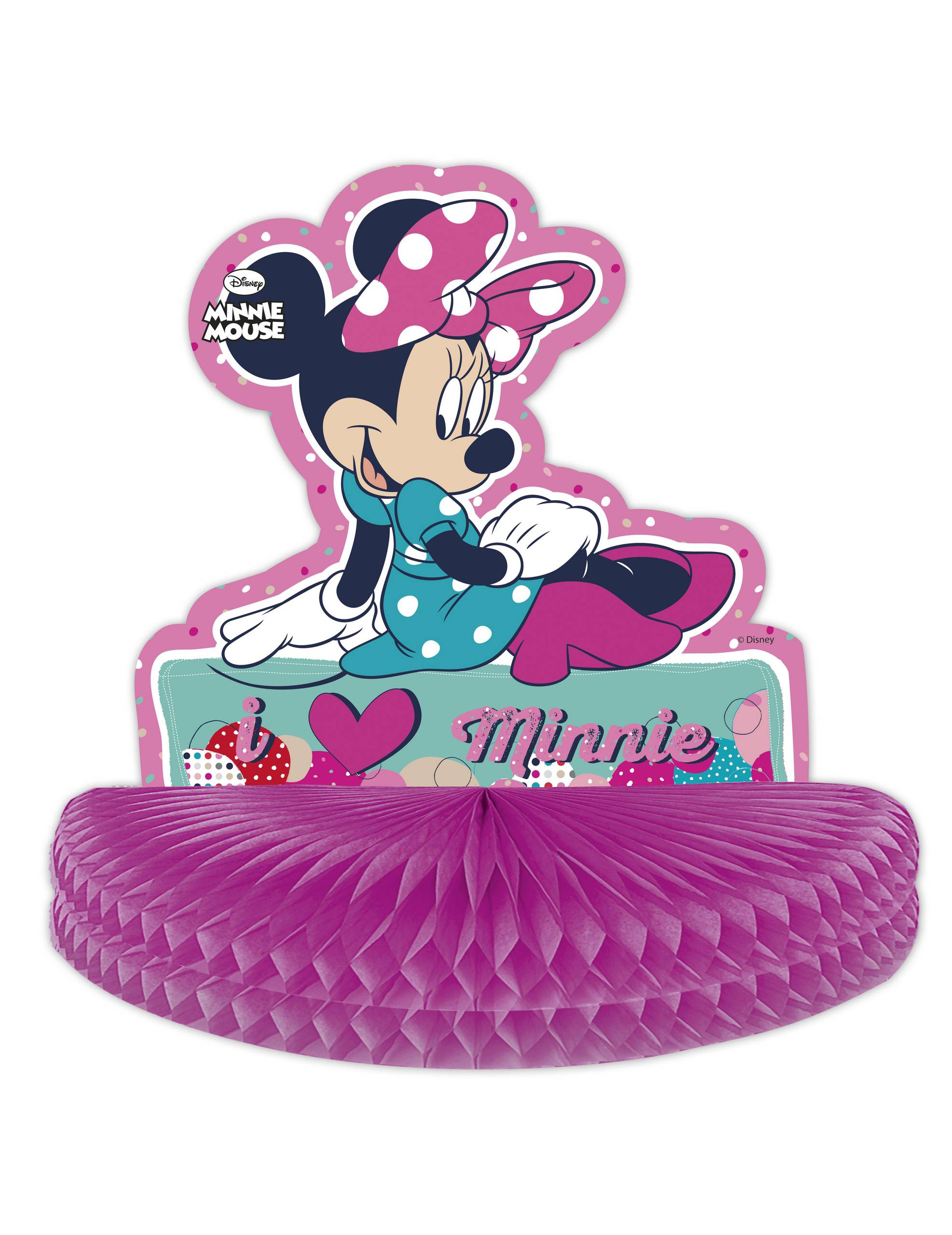 centre de table minnie mouse d coration anniversaire et f tes th me sur vegaoo party. Black Bedroom Furniture Sets. Home Design Ideas
