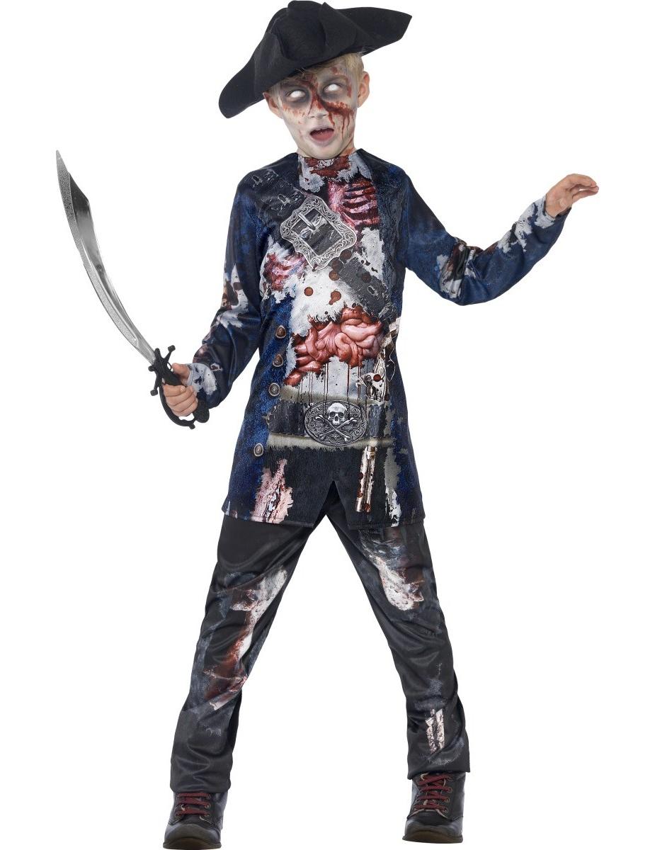 d guisement zombie pirate gar on halloween d coration. Black Bedroom Furniture Sets. Home Design Ideas