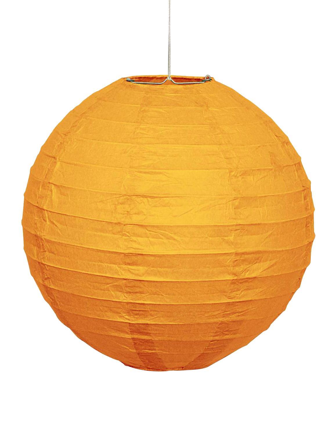 lanterne japonaise orange en papier d coration. Black Bedroom Furniture Sets. Home Design Ideas