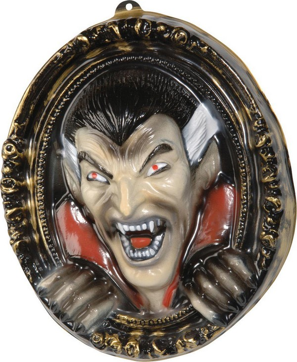 D coration murale tableau vampire 3d 37 x 43 cm halloween for Decoration murale halloween