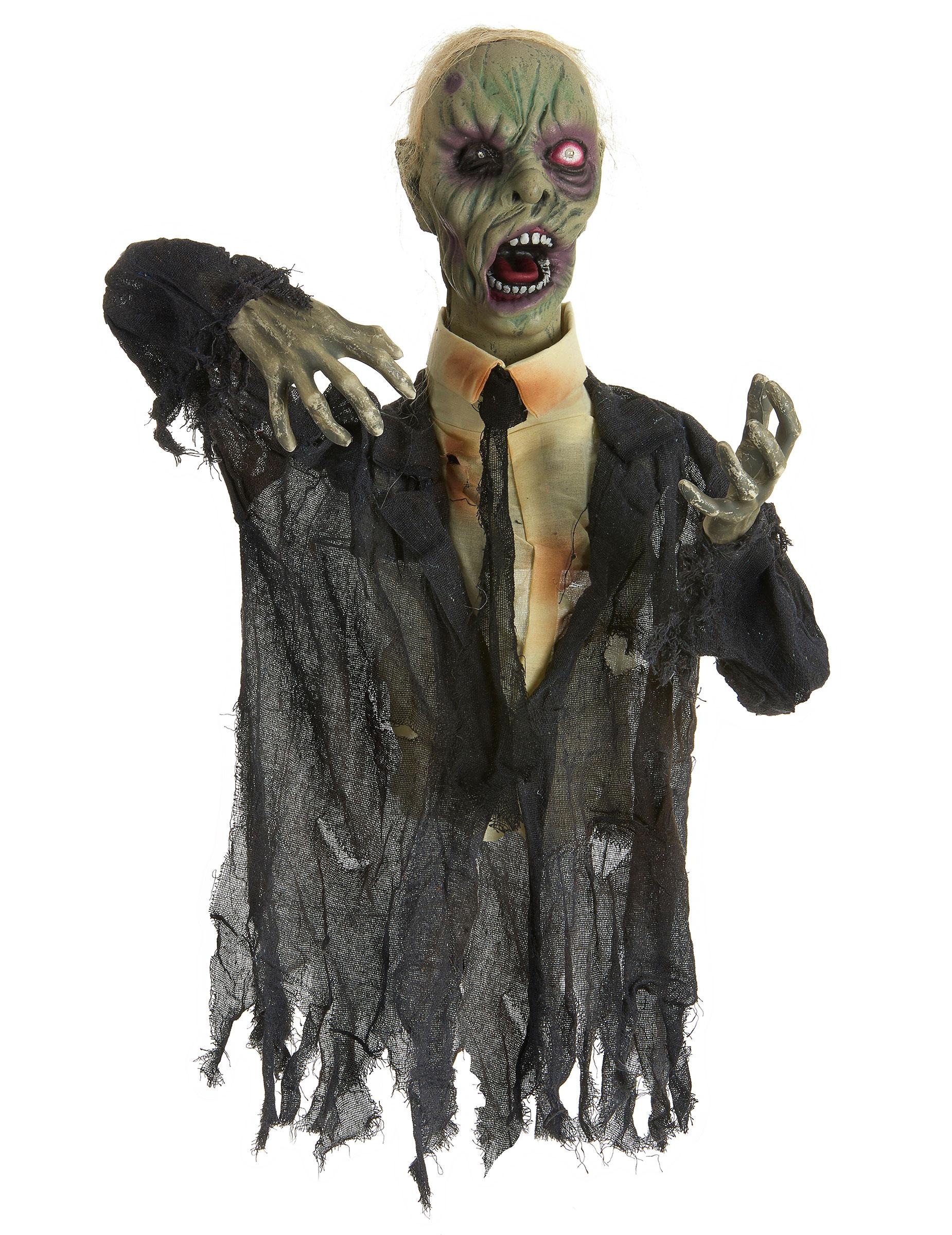 d coration zombie anim e lumineuse et sonore 140 cm halloween d coration an. Black Bedroom Furniture Sets. Home Design Ideas