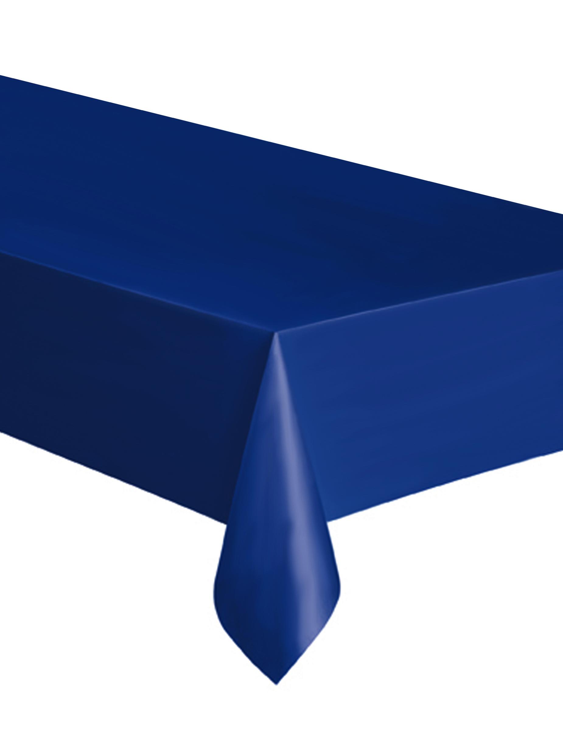nappe en plastique bleu marine 137 x 274 cm d coration anniversaire et f tes th me sur vegaoo. Black Bedroom Furniture Sets. Home Design Ideas