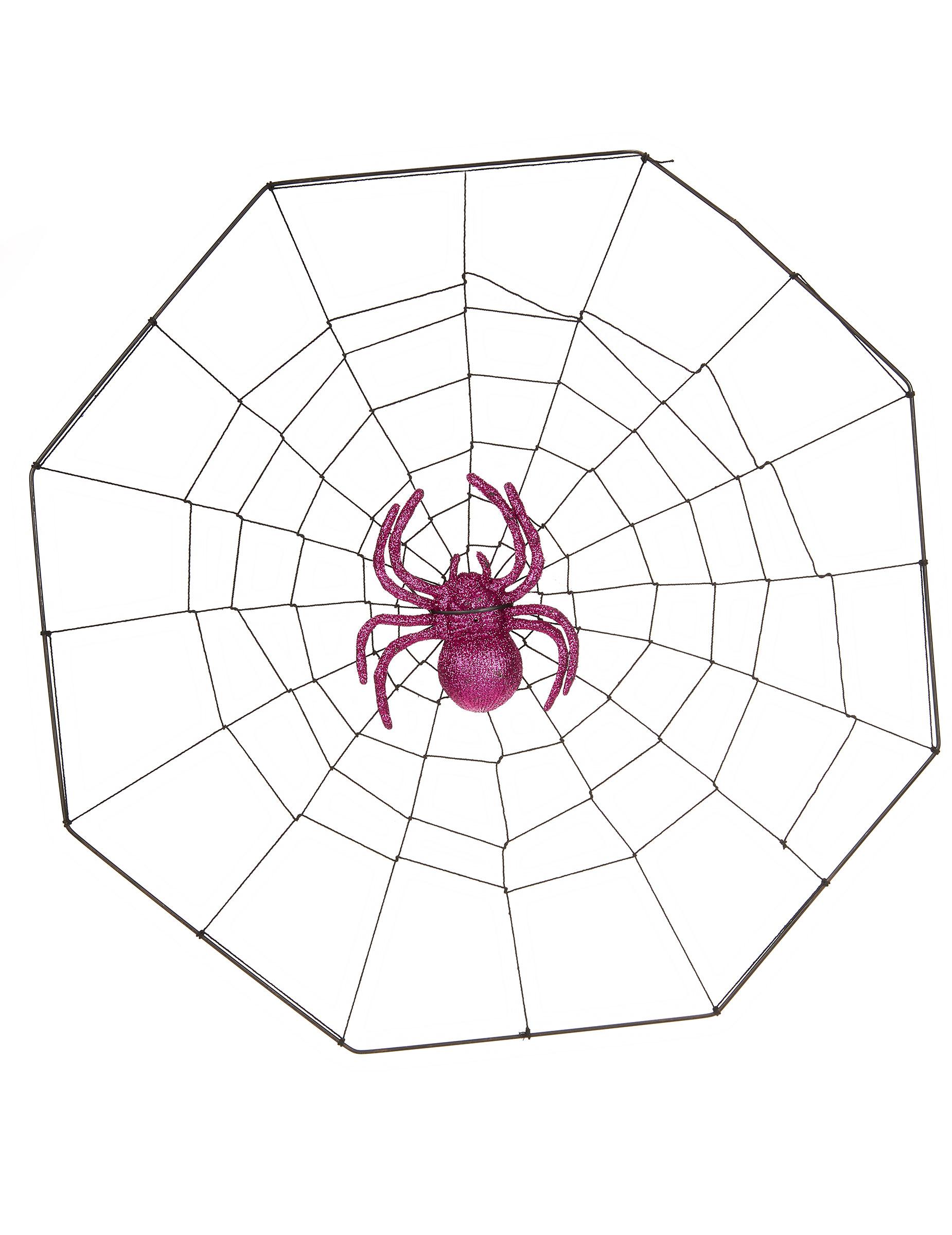 toile d 39 araign e ventouse halloween d coration. Black Bedroom Furniture Sets. Home Design Ideas