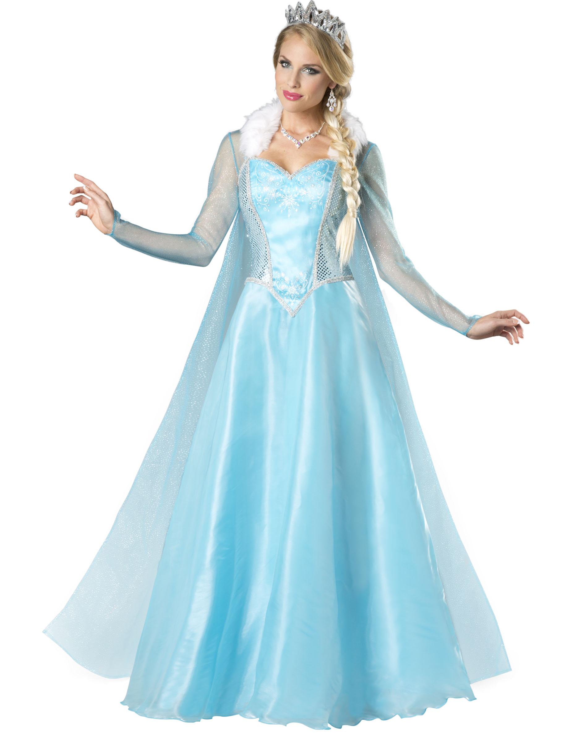 dguisement princesse des neiges pour femme premium