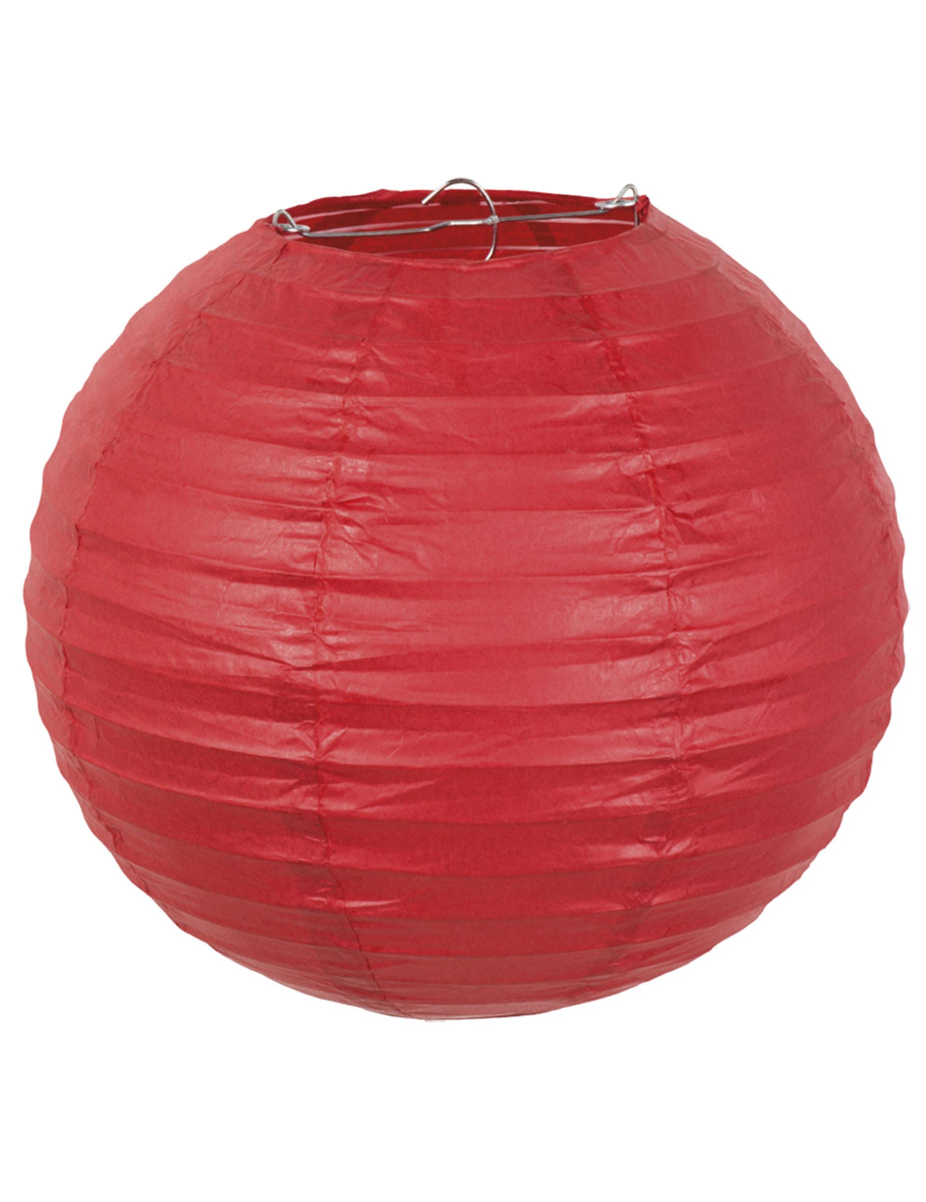 lanterne japonaise en papier rouge 25 cm d coration. Black Bedroom Furniture Sets. Home Design Ideas