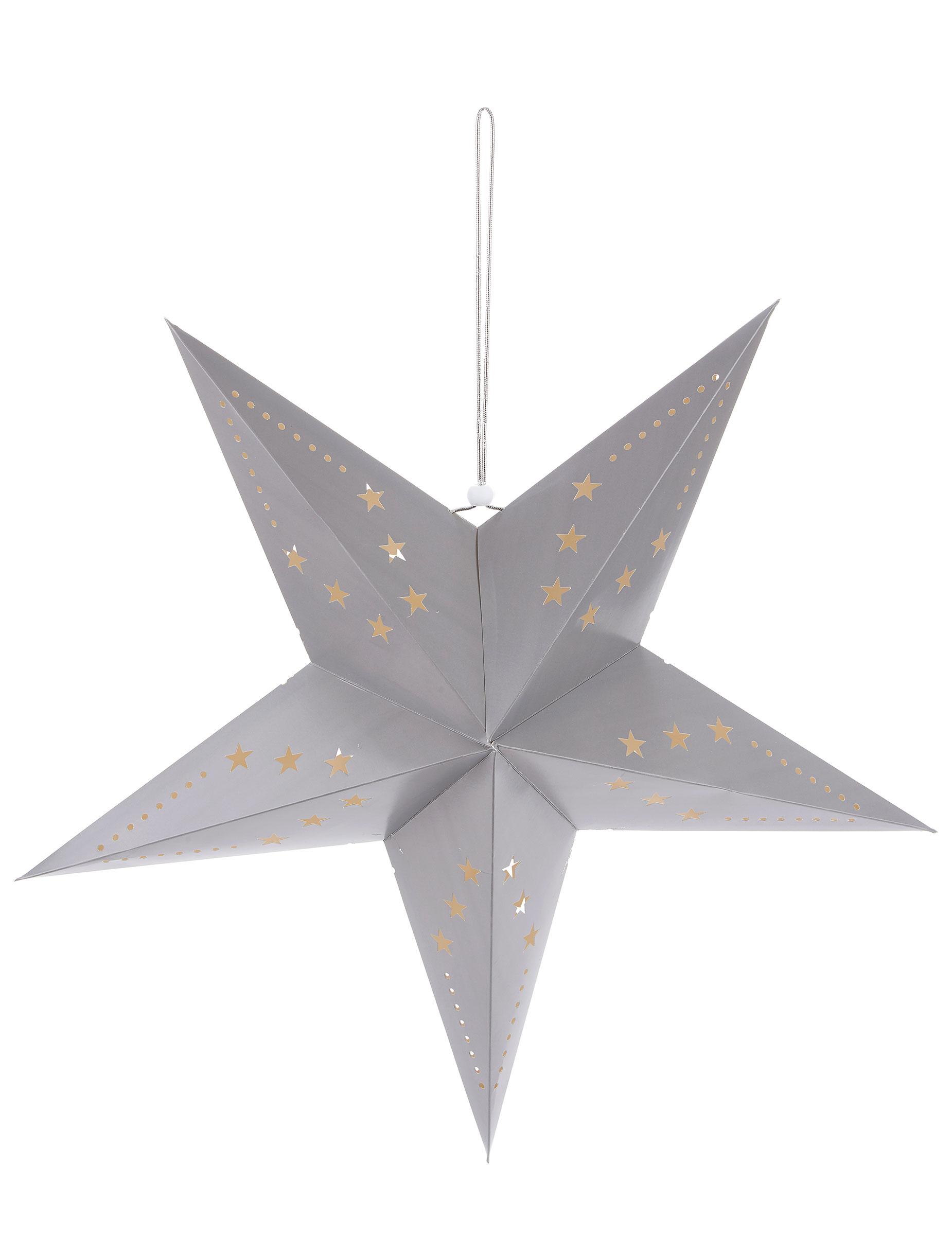 lanterne toile grise 60 cm d coration anniversaire et f tes th me sur vegaoo party. Black Bedroom Furniture Sets. Home Design Ideas