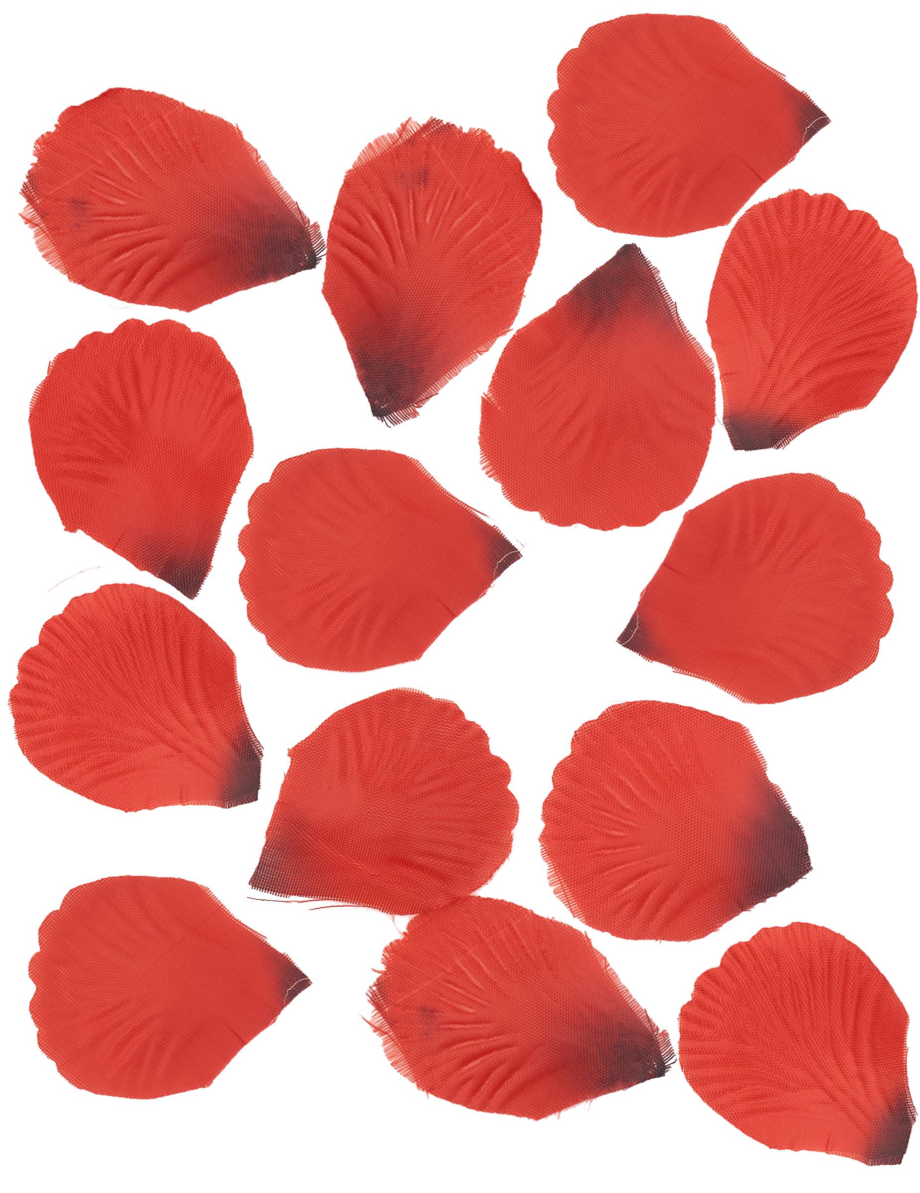 100 p tales de rose en tissu rouge sombre d coration anniversaire et f tes th me sur vegaoo party. Black Bedroom Furniture Sets. Home Design Ideas