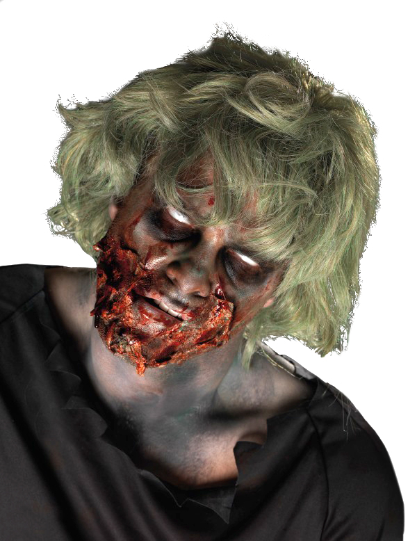maquillage zombie adulte