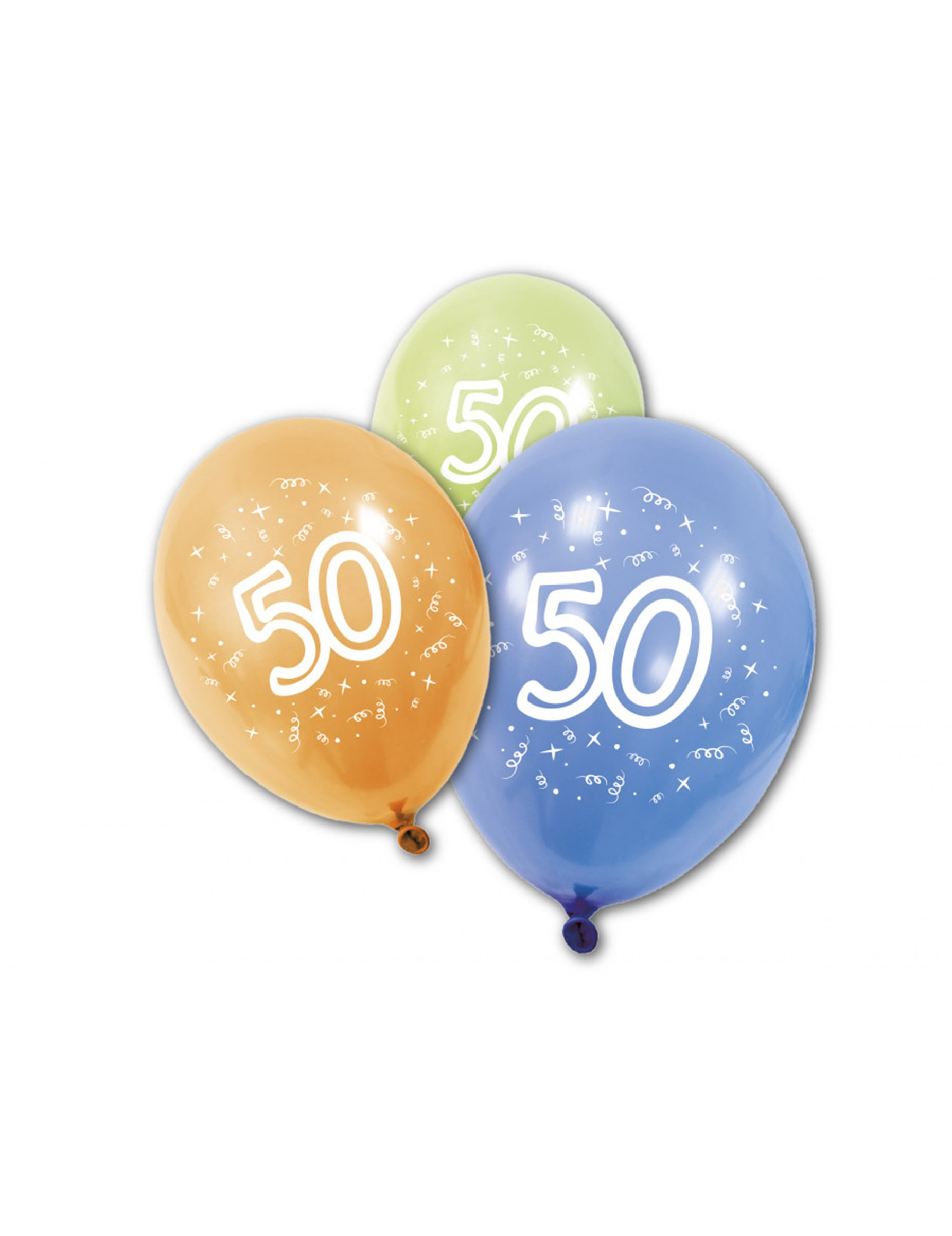 8 ballons anniversaire 50 ans d coration anniversaire et f tes th me sur vegaoo party. Black Bedroom Furniture Sets. Home Design Ideas