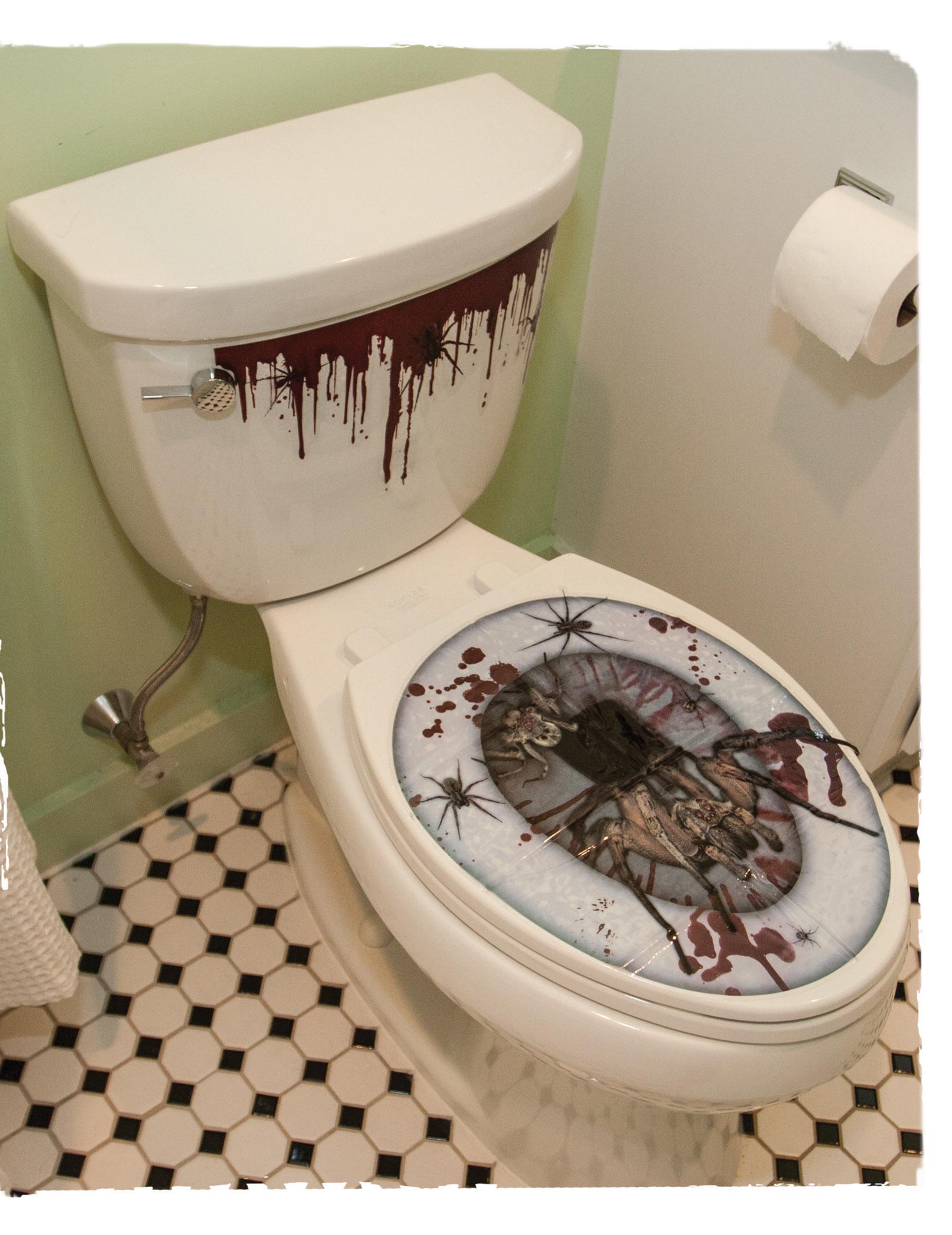 Stickers pour abattant de wc halloween d coration anniversaire et f tes th me sur vegaoo party - Abattant wc taille non standard ...