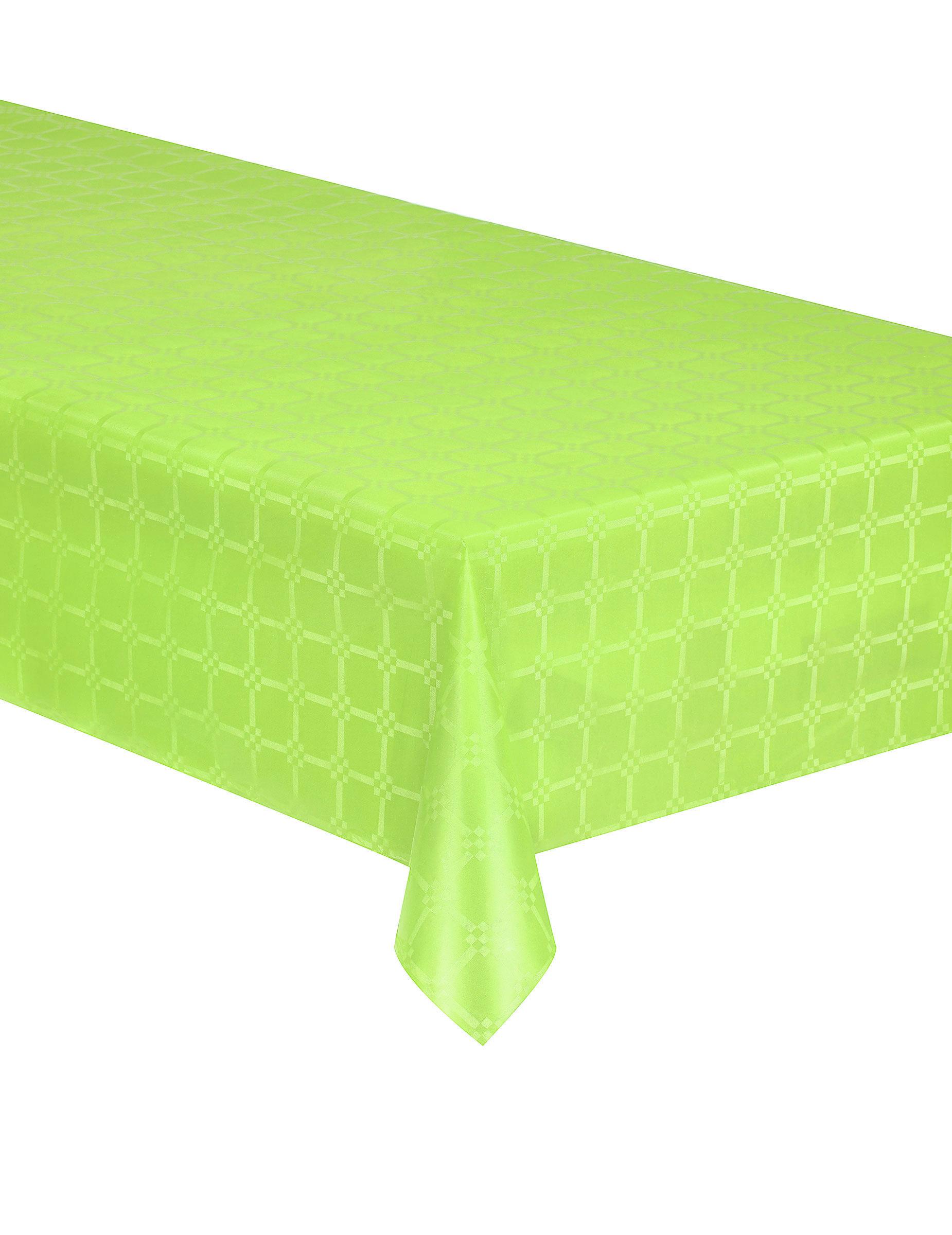 nappe en rouleau papier damass vert anis 6 m tres d coration anniversaire et f tes th me sur. Black Bedroom Furniture Sets. Home Design Ideas