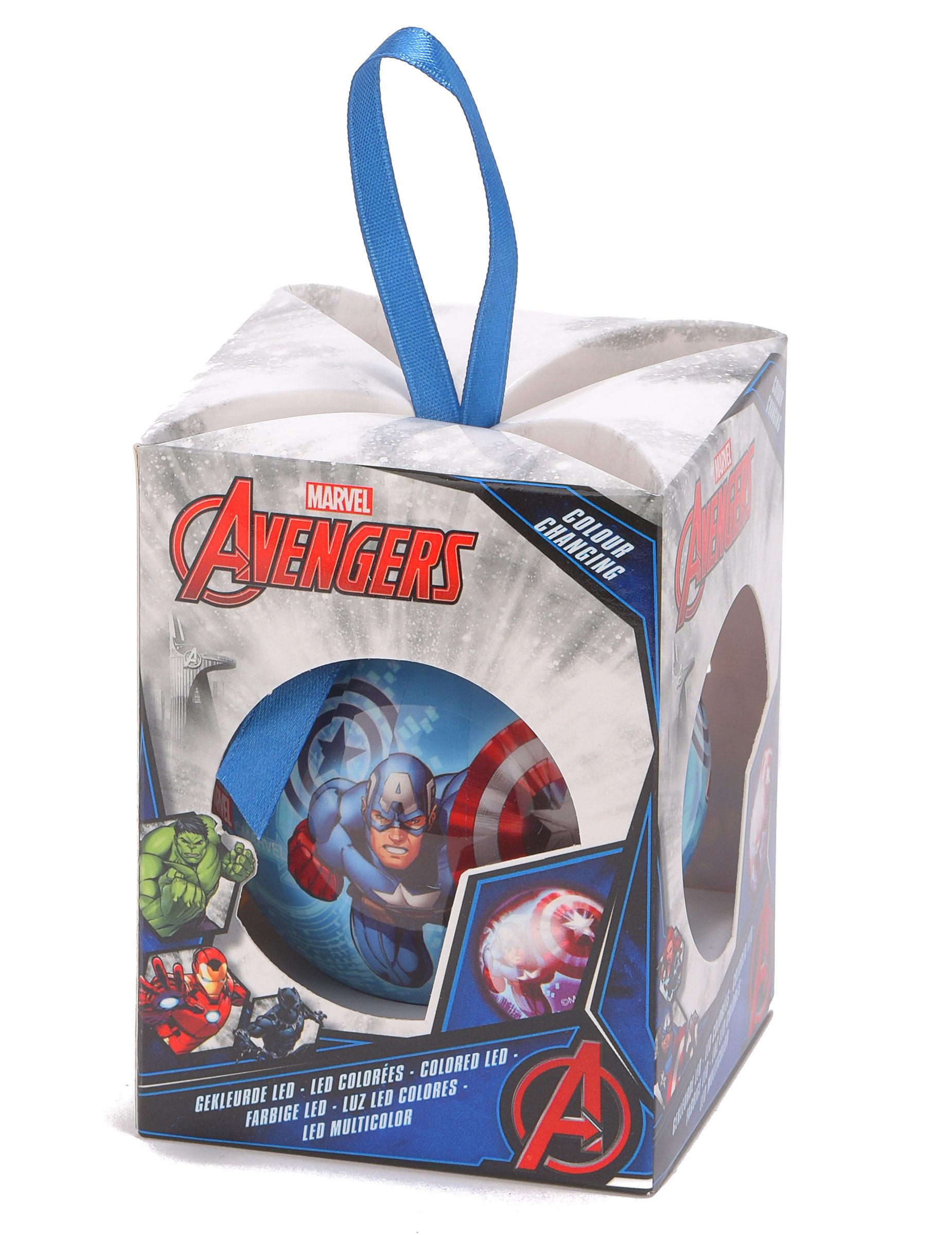 Decoration De Noel Boule Avengers